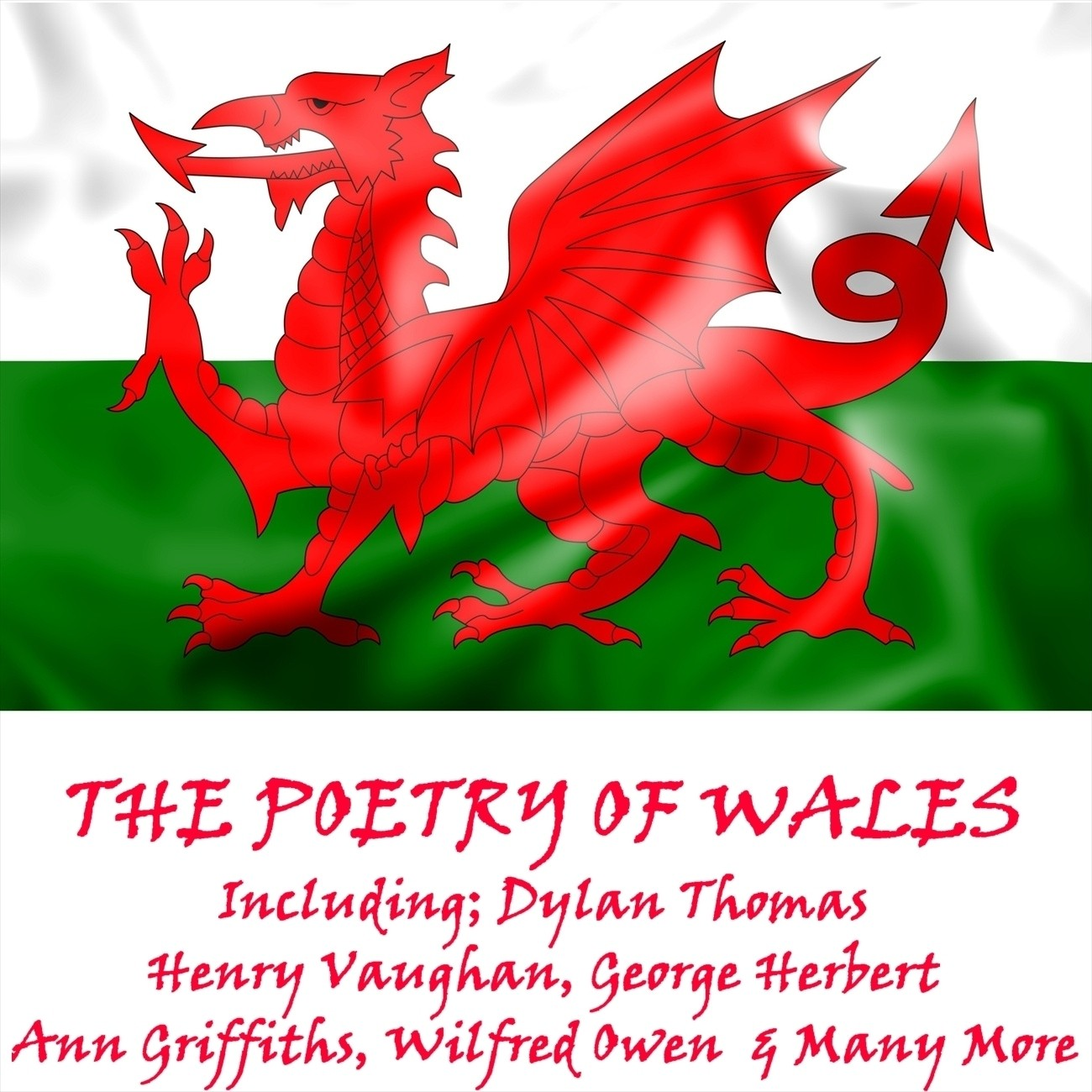 Printable The Poetry of Wales Audiobook Cover Art