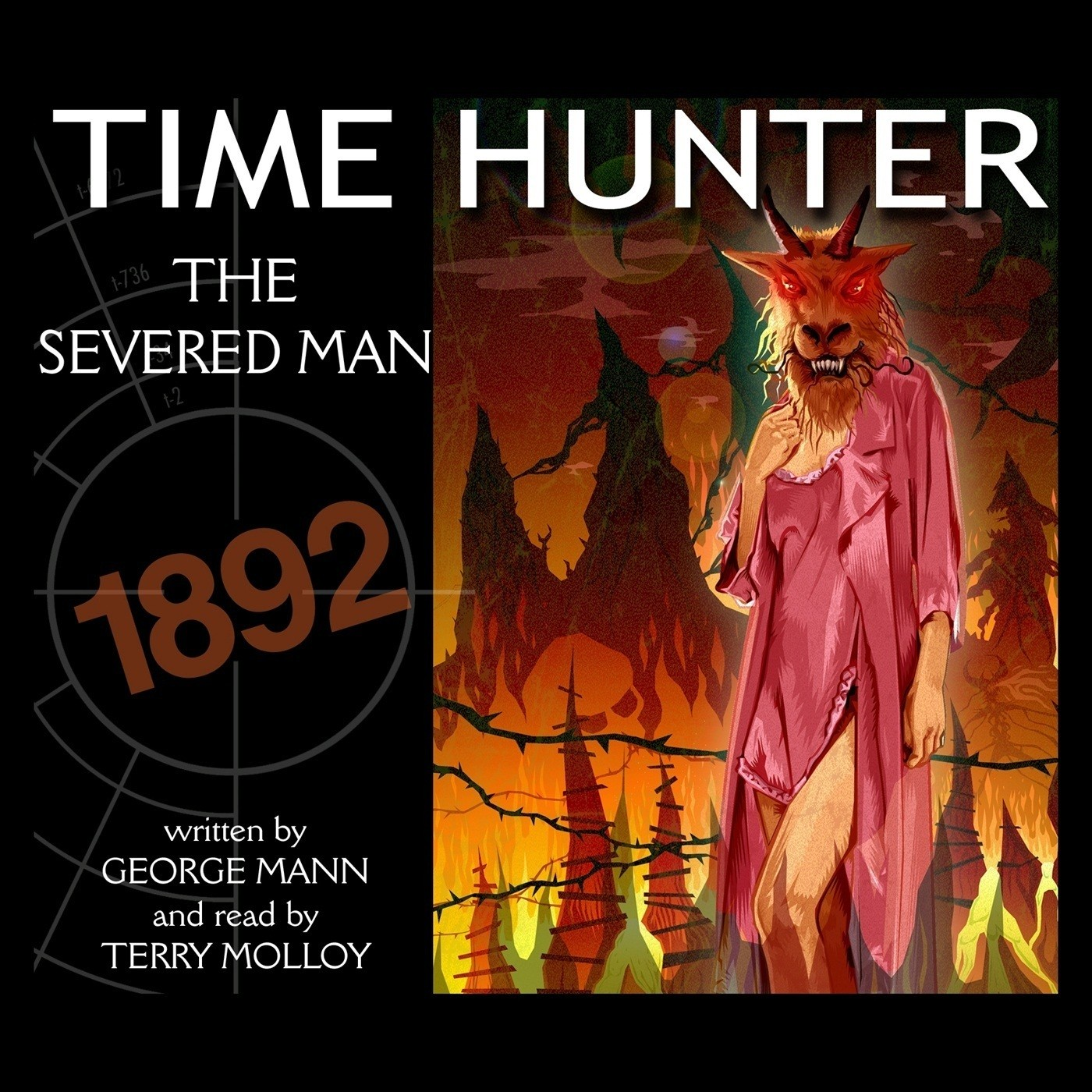 Printable The Severed Man Audiobook Cover Art
