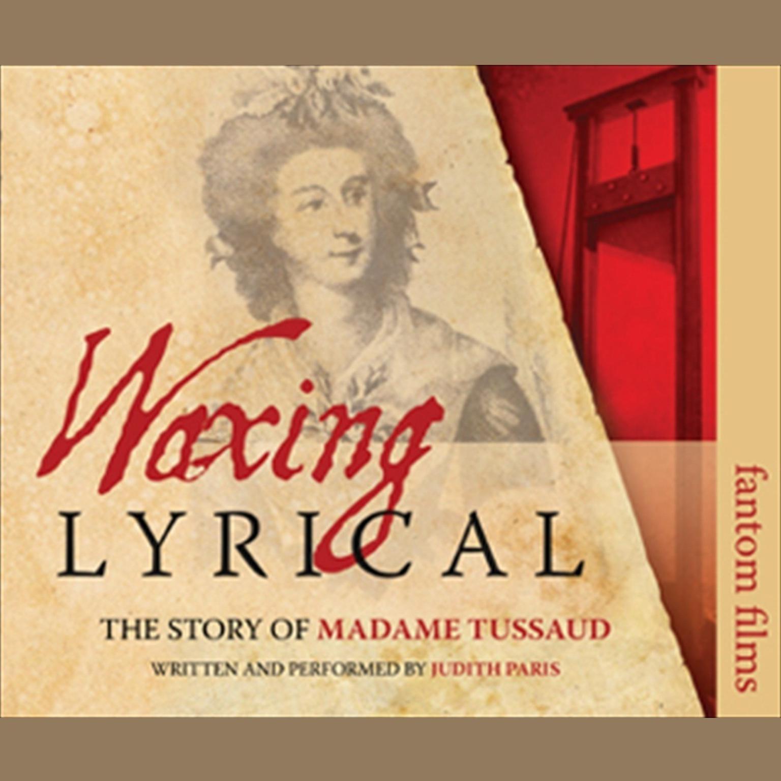 Printable Waxing Lyrical Audiobook Cover Art