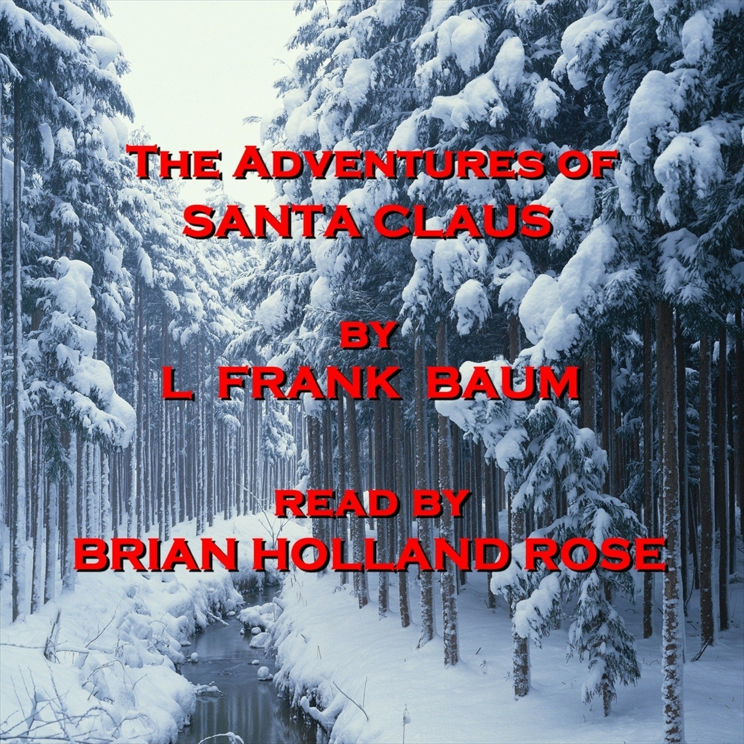 Printable The Adventures of Santa Claus Audiobook Cover Art