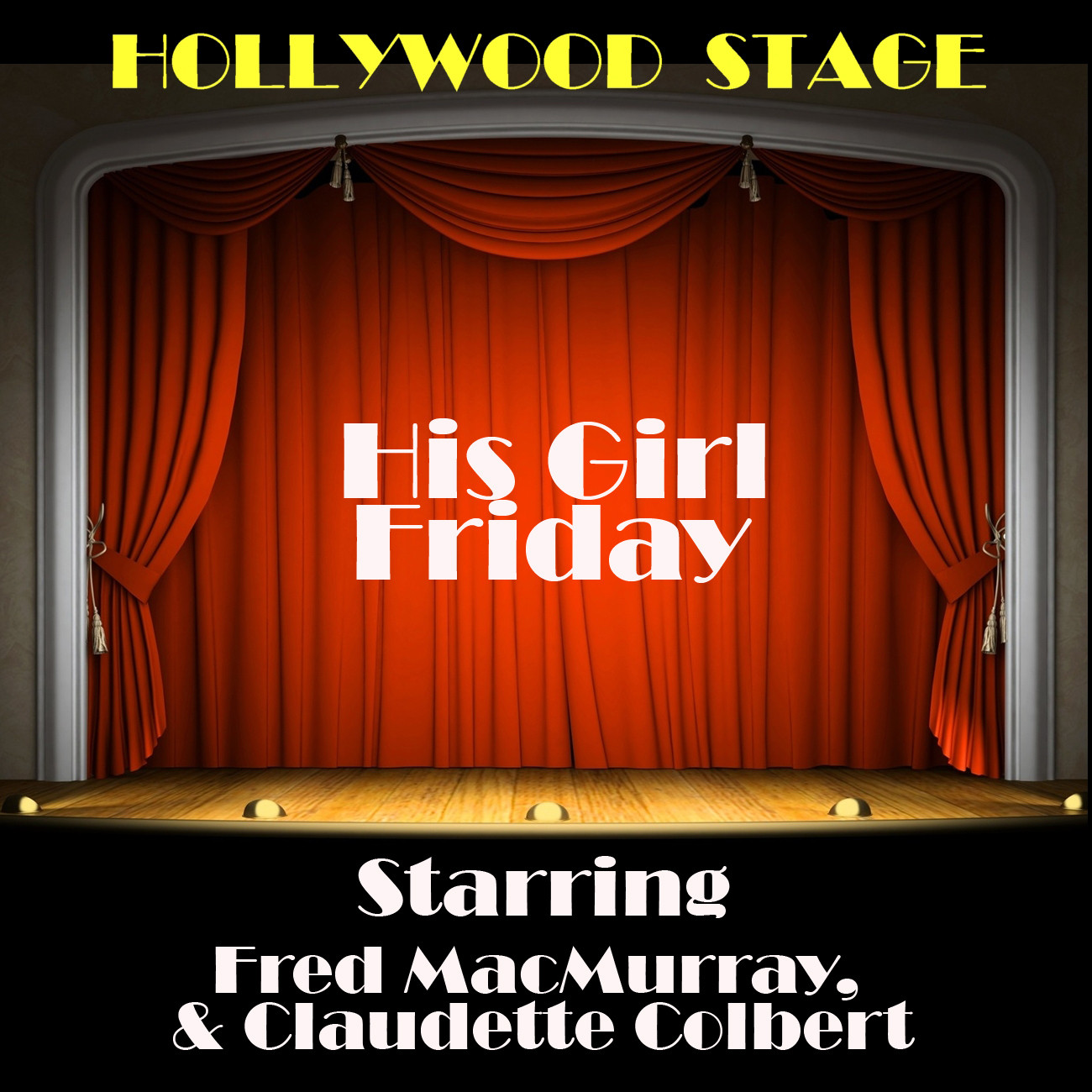 Printable His Girl Friday Audiobook Cover Art
