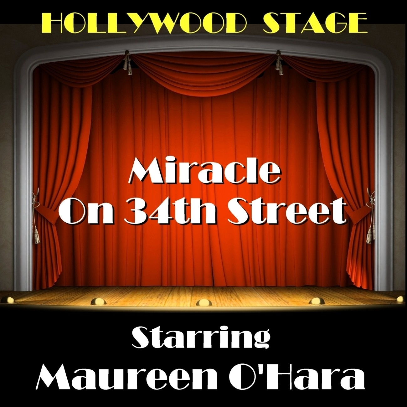 Printable Miracle on 34th Street Audiobook Cover Art