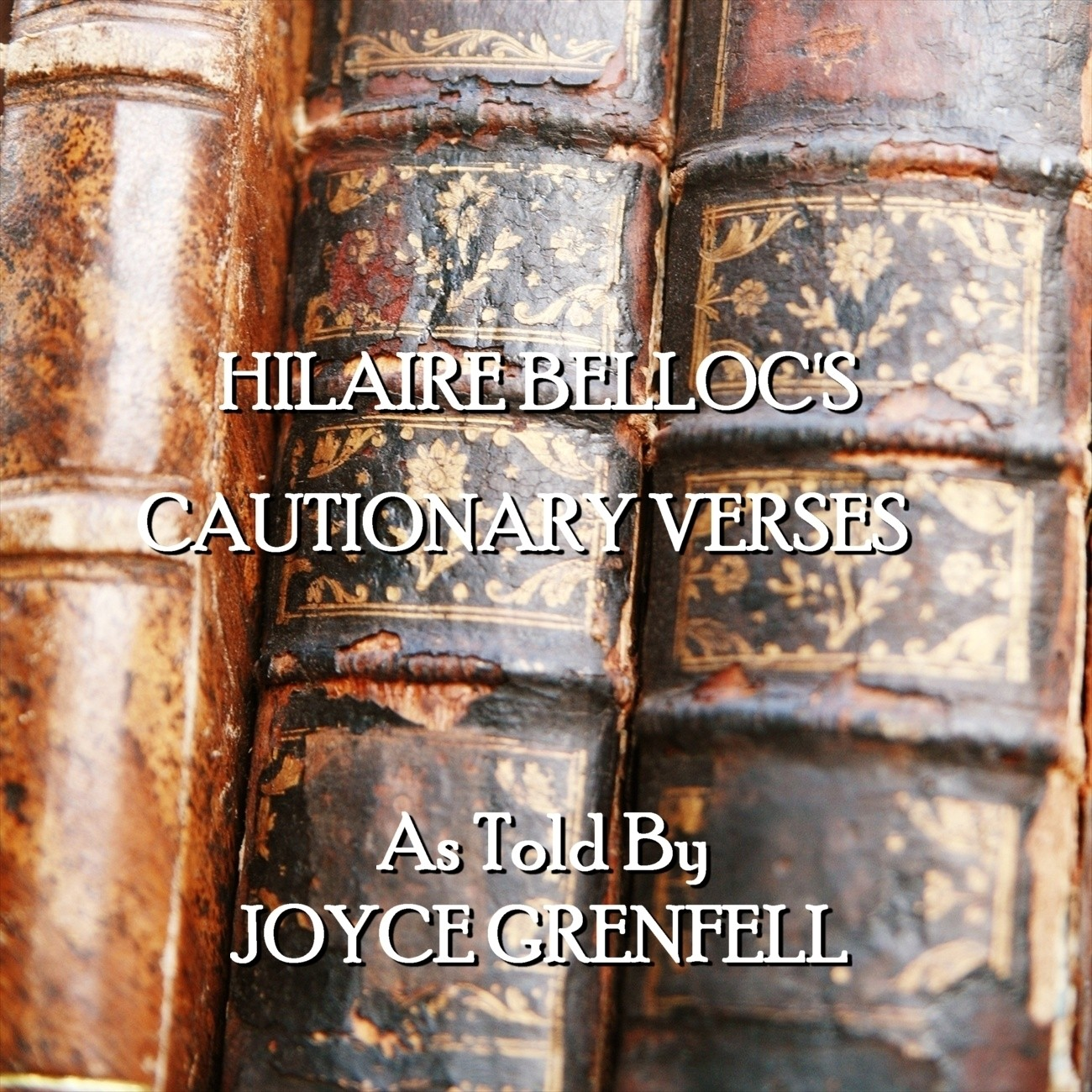 Printable Cautionary Verses Audiobook Cover Art