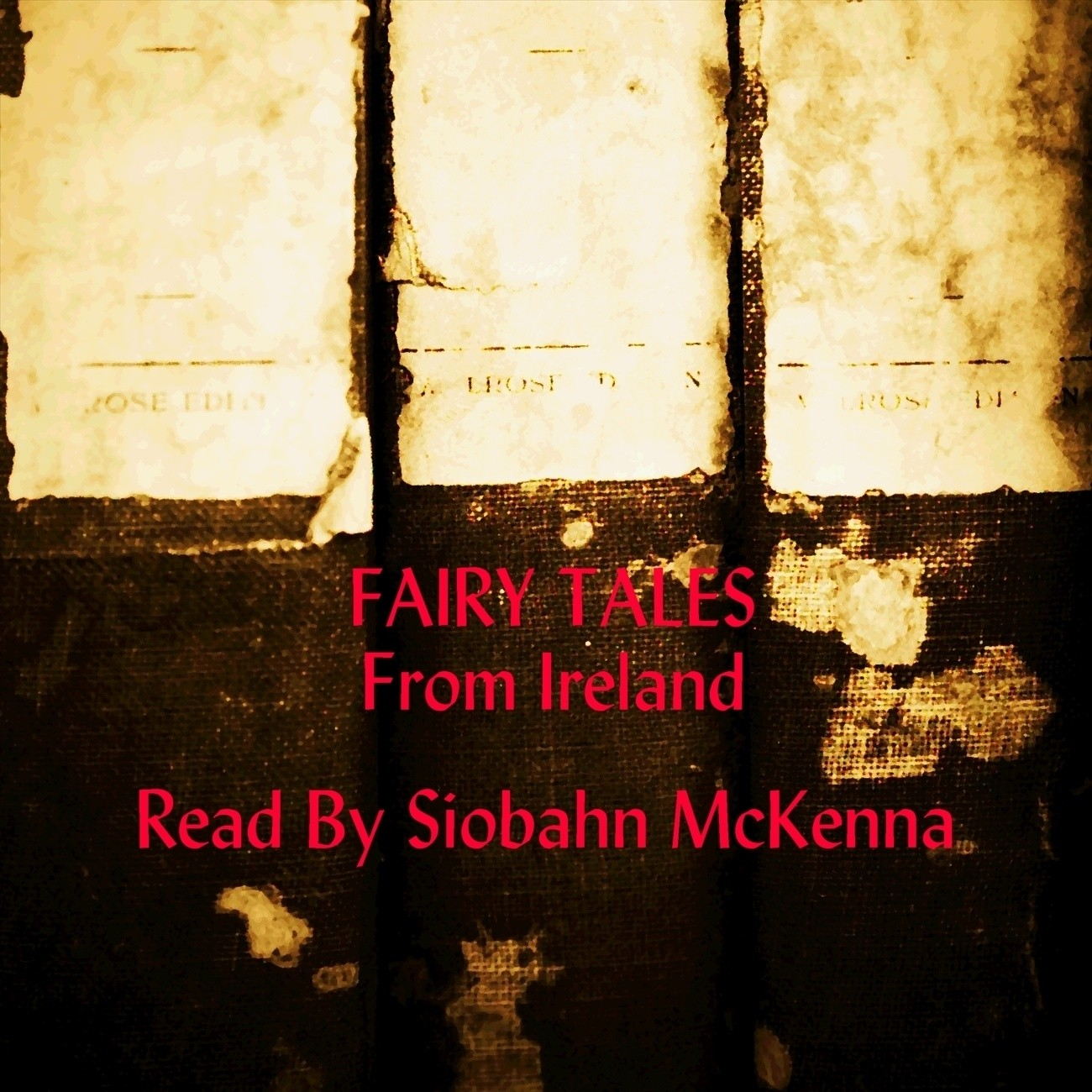 Printable Fairy Tales from Ireland Audiobook Cover Art