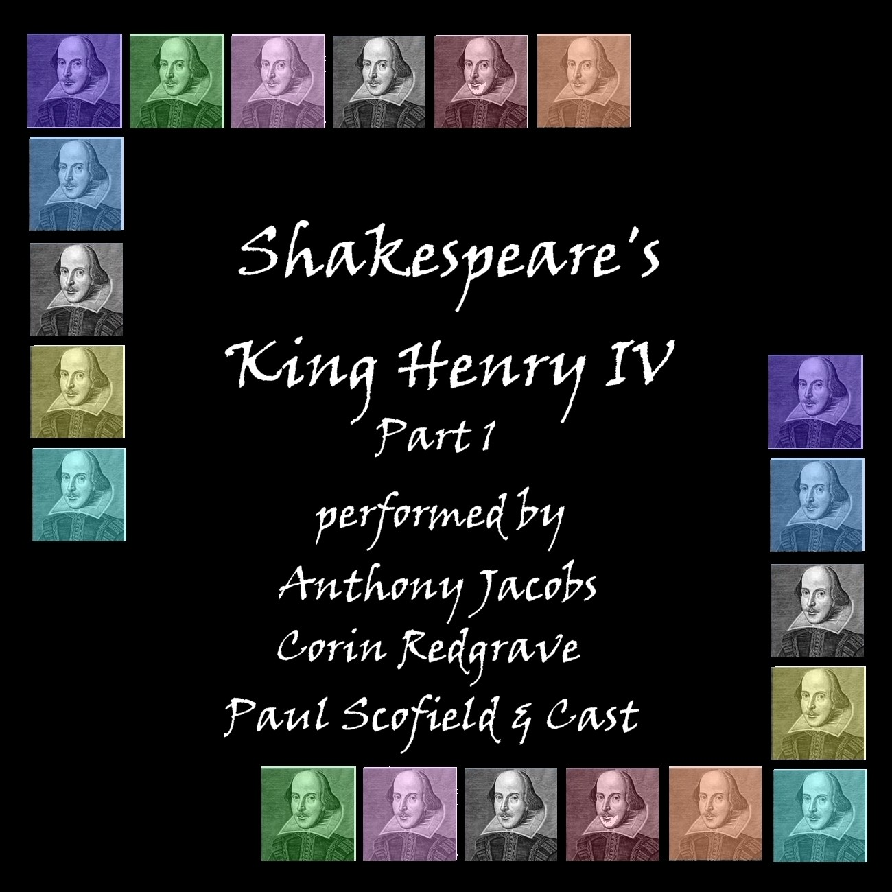 Printable Henry IV, Part 1 Audiobook Cover Art