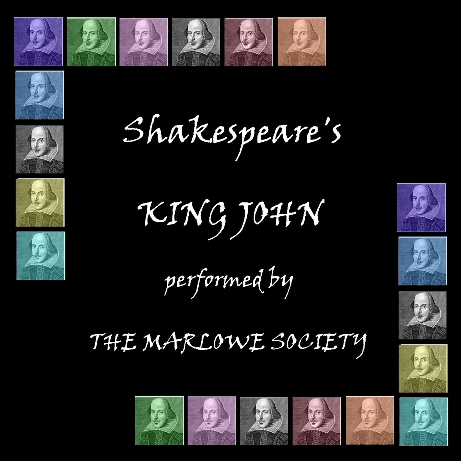 Printable King John Audiobook Cover Art