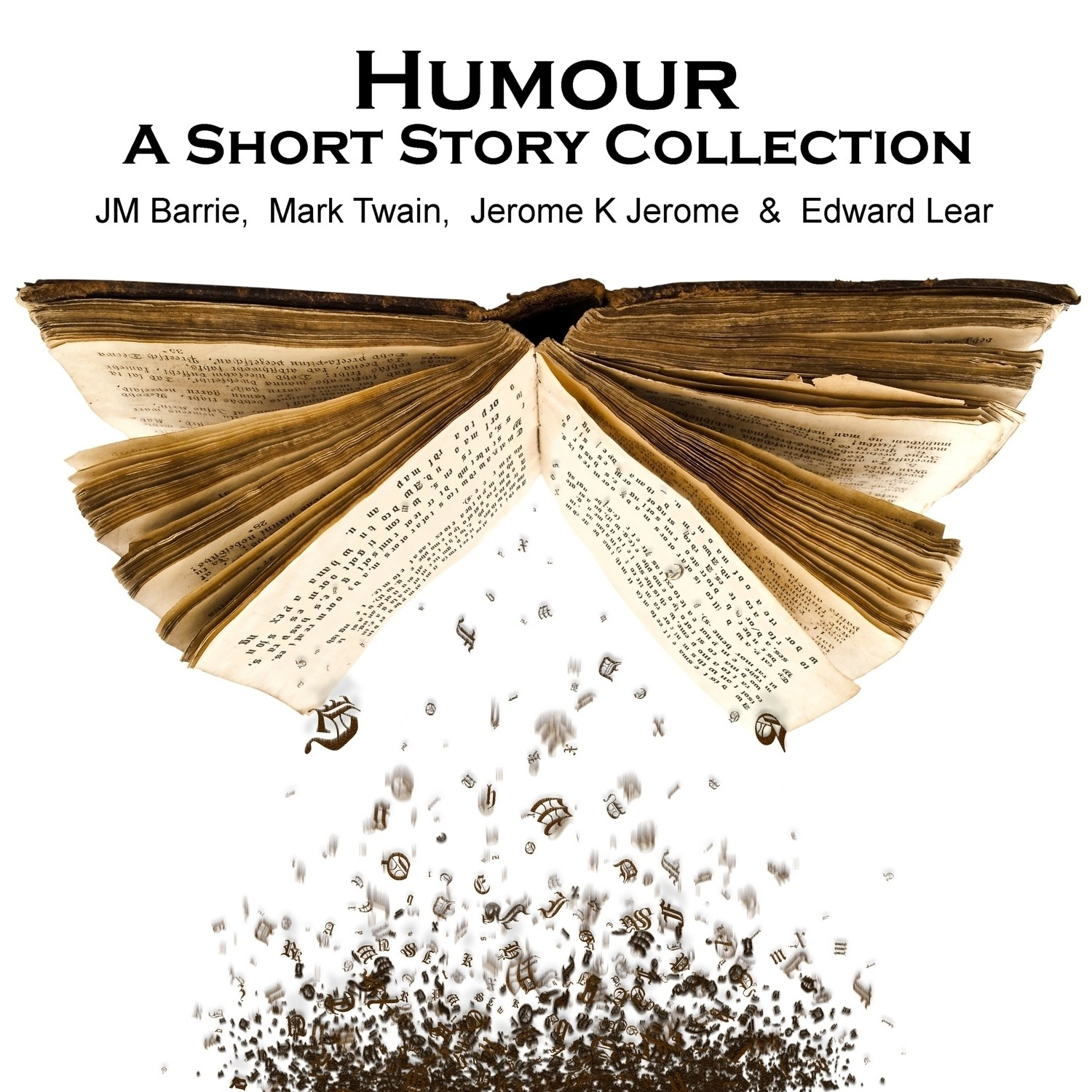 Printable Humor: A Short Story Collection Audiobook Cover Art