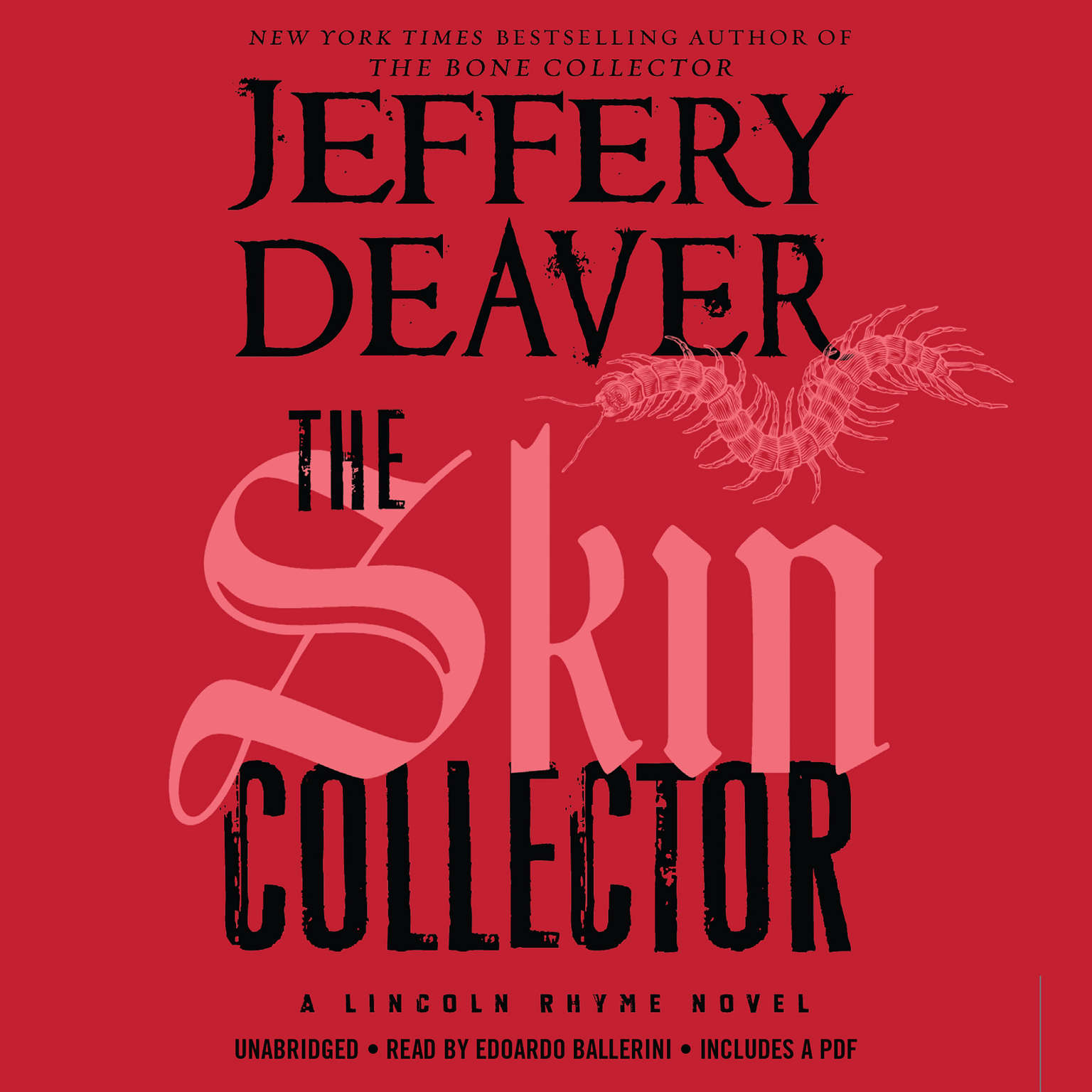 Printable The Skin Collector Audiobook Cover Art