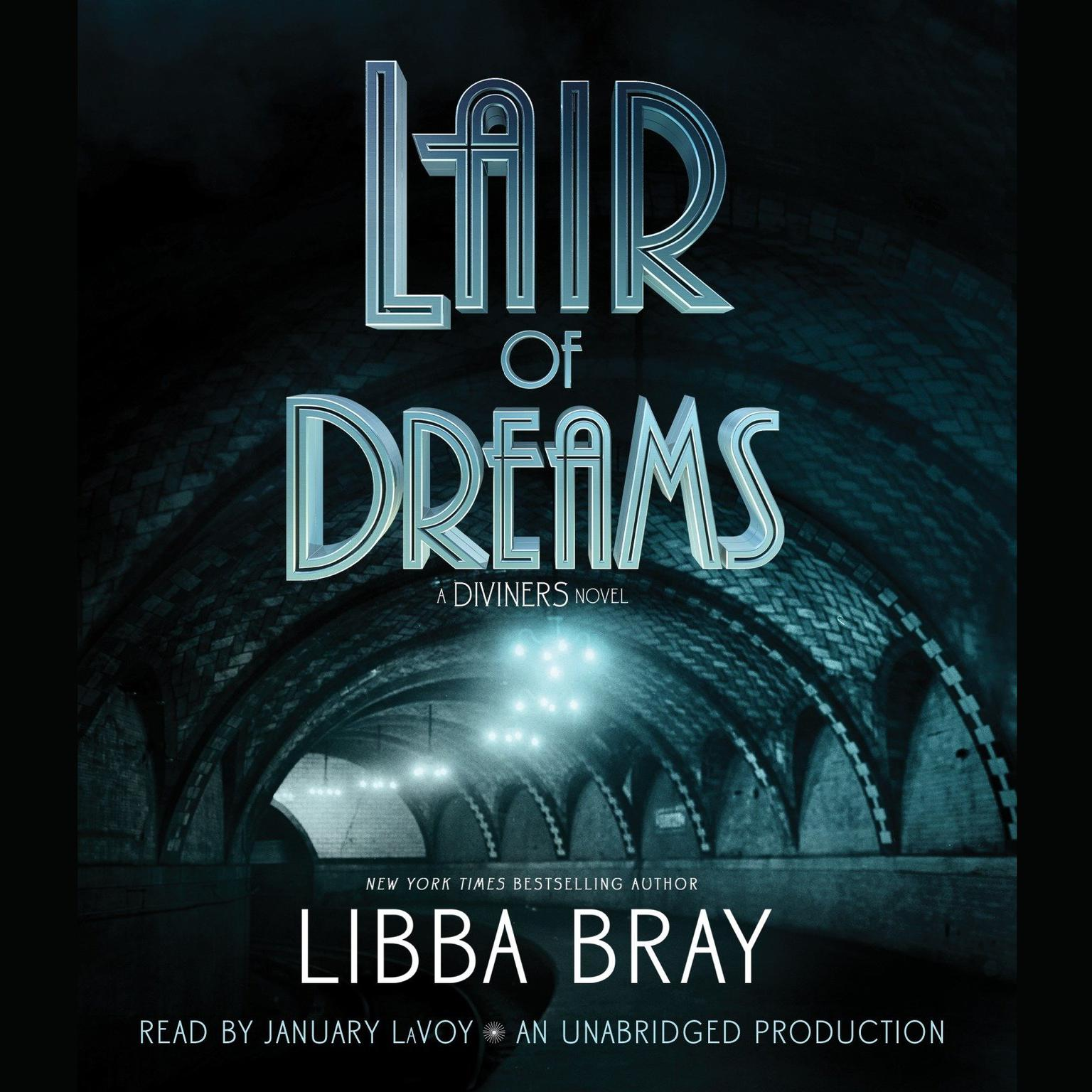Printable Lair of Dreams: A Diviners Novel Audiobook Cover Art