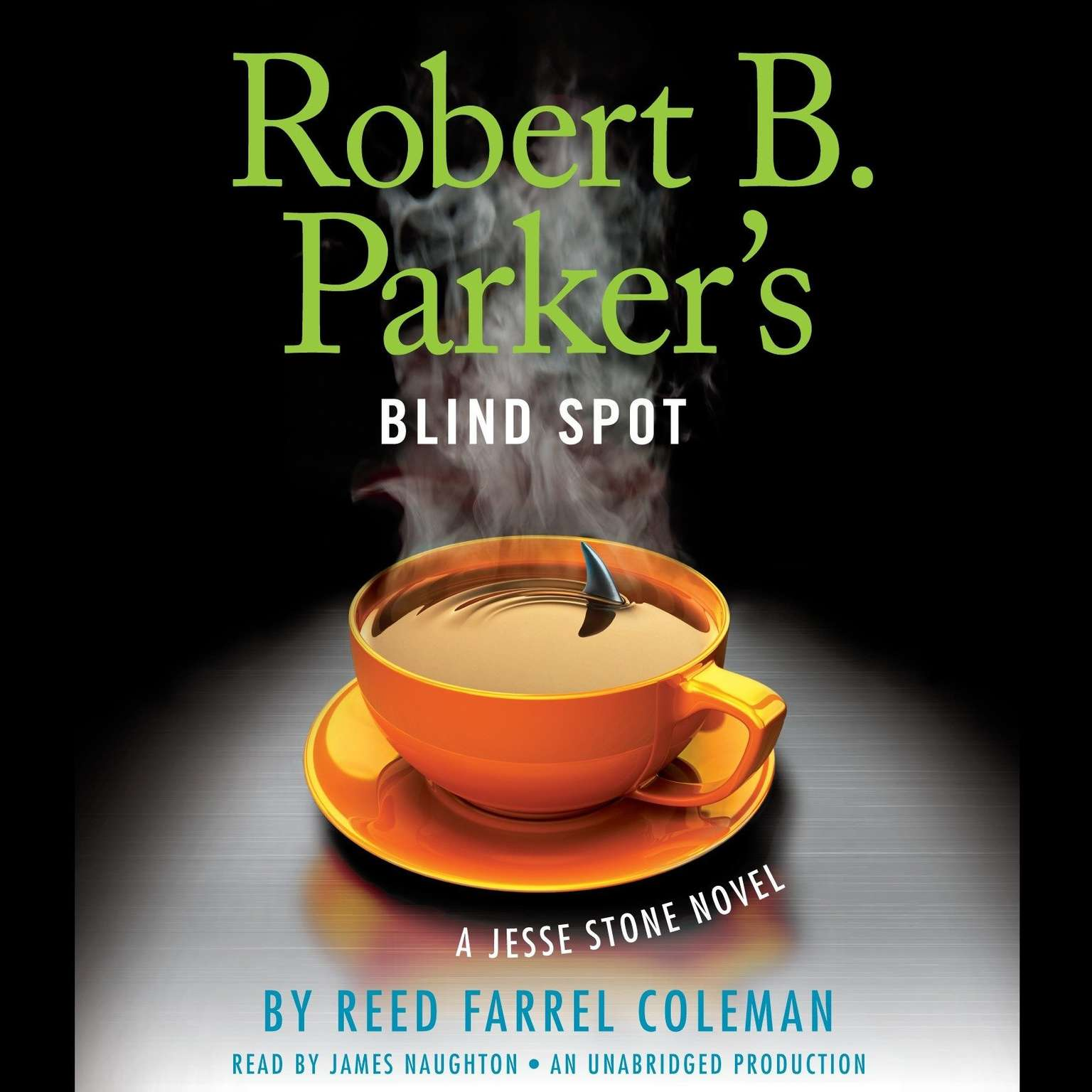 Printable Robert B. Parker's Blind Spot Audiobook Cover Art