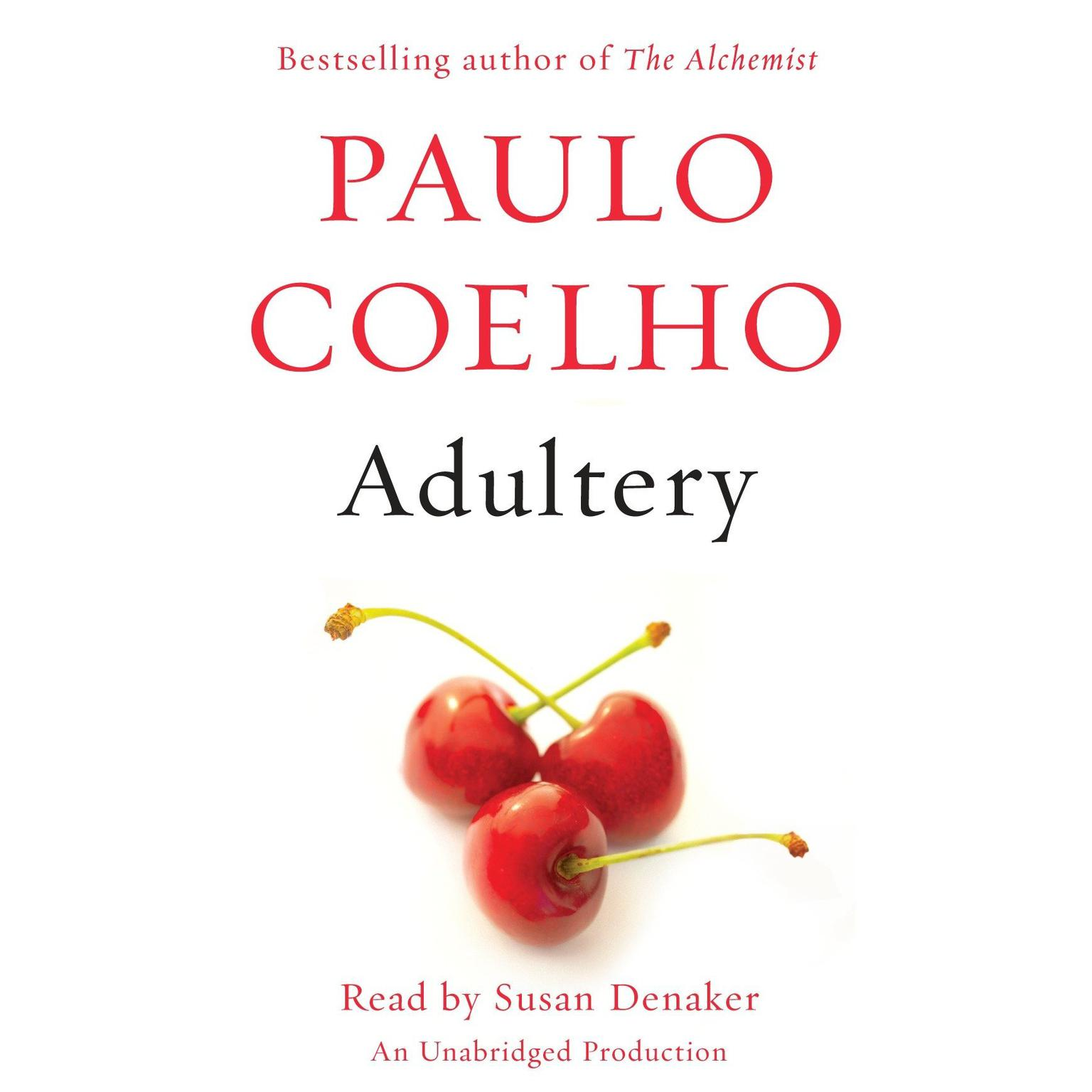 Printable Adultery: A novel Audiobook Cover Art