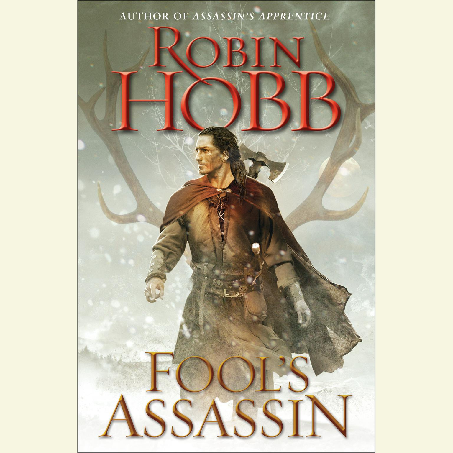 Printable Fool's Assassin: Book One of the Fitz and the Fool Trilogy Audiobook Cover Art