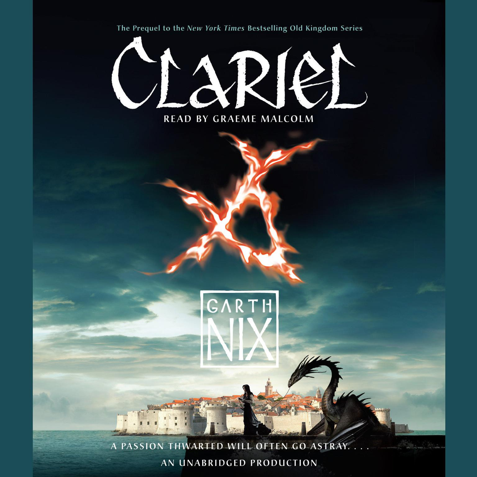 Printable Clariel: The Lost Abhorsen Audiobook Cover Art