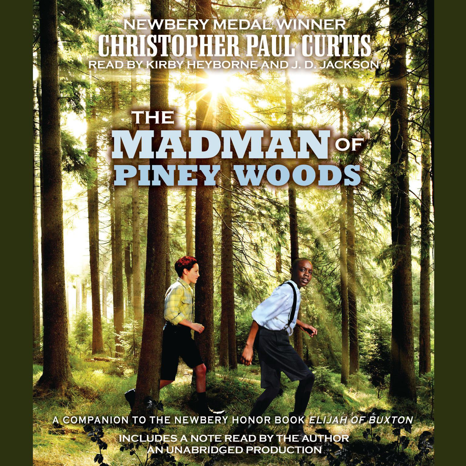 Printable The Madman of Piney Woods Audiobook Cover Art