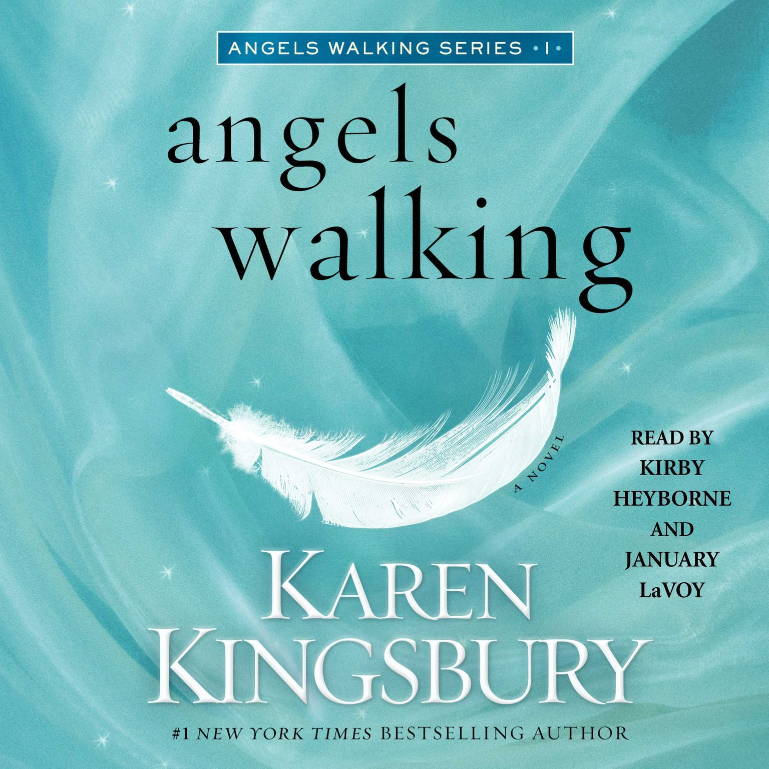 Printable Angels Walking: A Novel Audiobook Cover Art