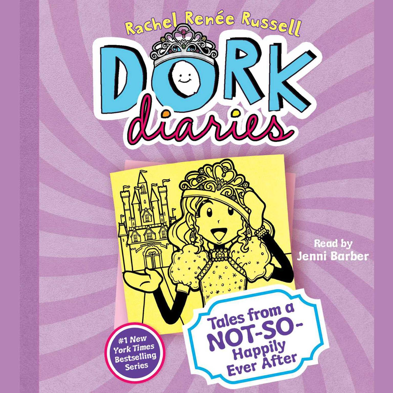 Printable Dork Diaries 8 Audiobook Cover Art