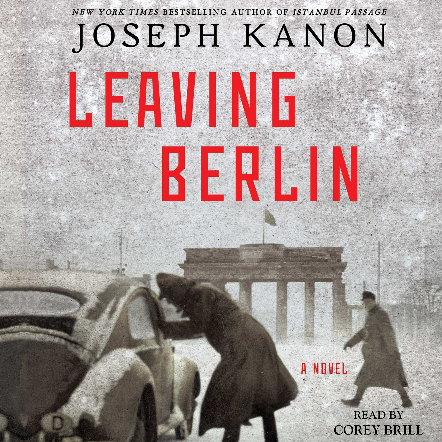 Printable Leaving Berlin: A Novel Audiobook Cover Art