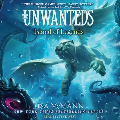 Island of Legends Audiobook, by Lisa McMann