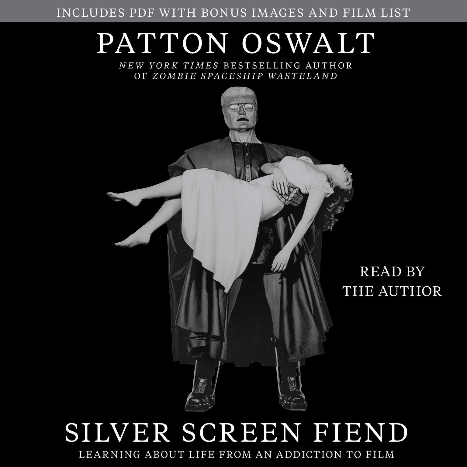 Printable Silver Screen Fiend: Learning about Life from an Addiction to Film Audiobook Cover Art