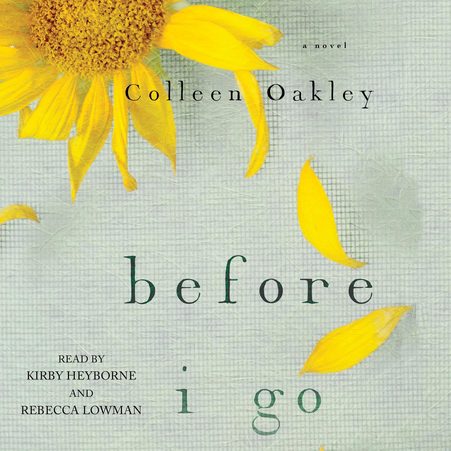 Printable Before I Go: A Novel Audiobook Cover Art