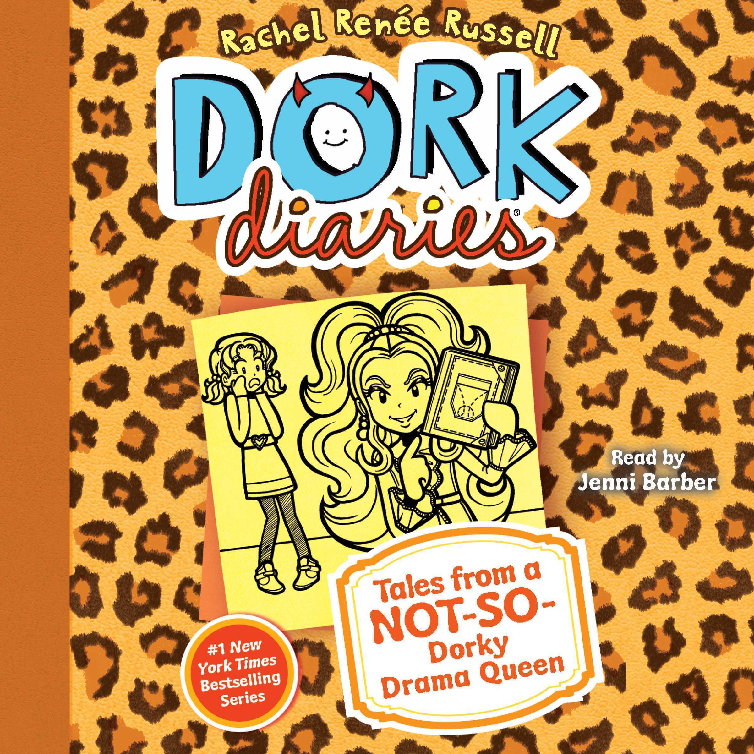 Printable Dork Diaries 9 Audiobook Cover Art