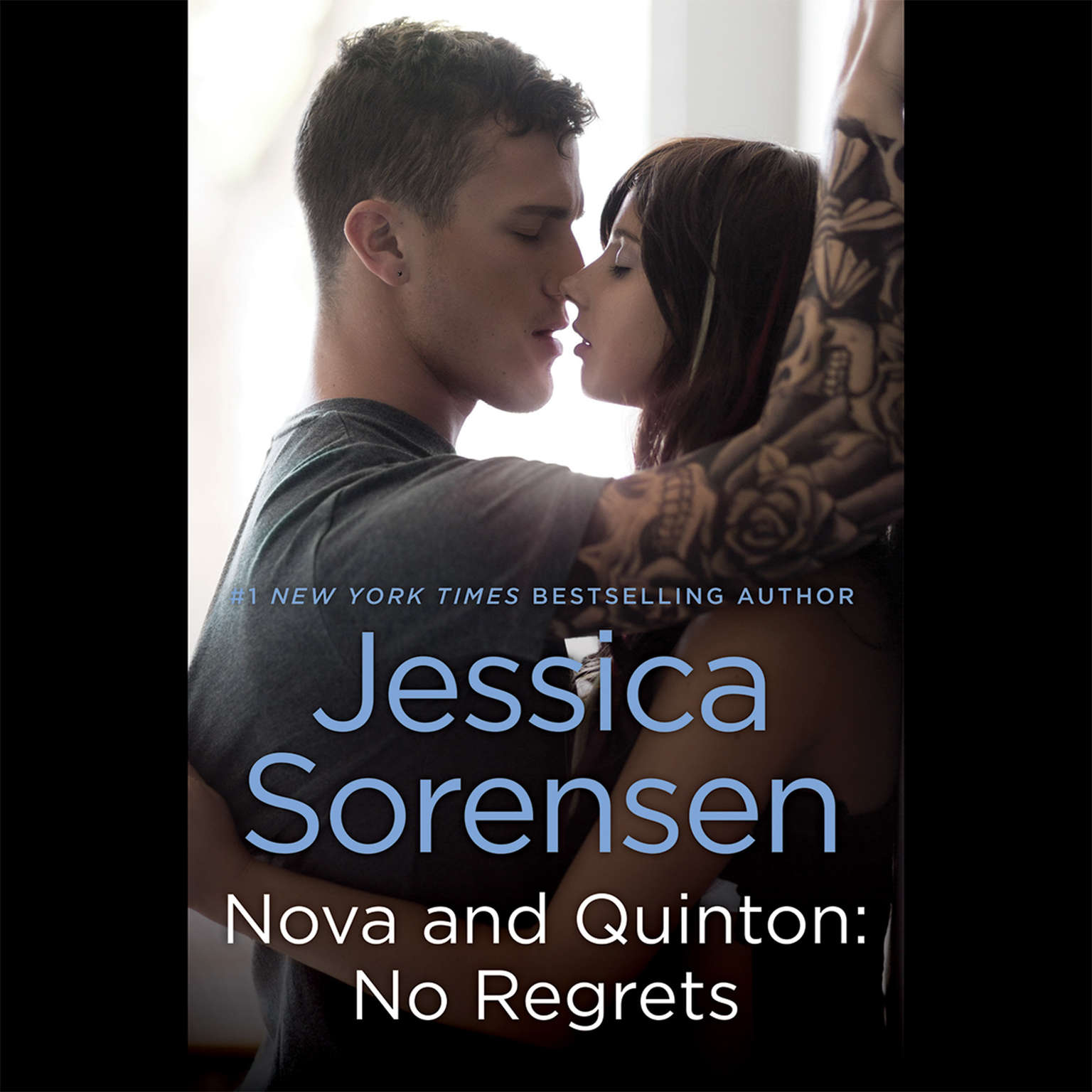 Printable Nova and Quinton: No Regrets Audiobook Cover Art