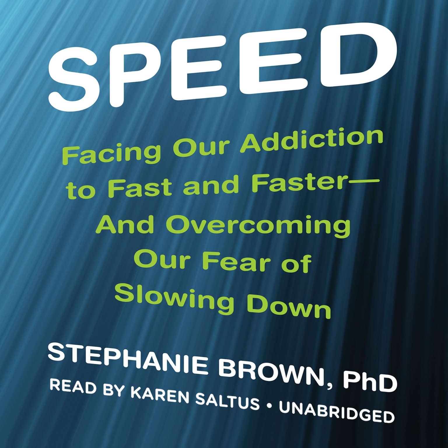 Printable Speed: Facing Our Addiction to Fast and Faster—and Overcoming Our Fear of Slowing Down Audiobook Cover Art