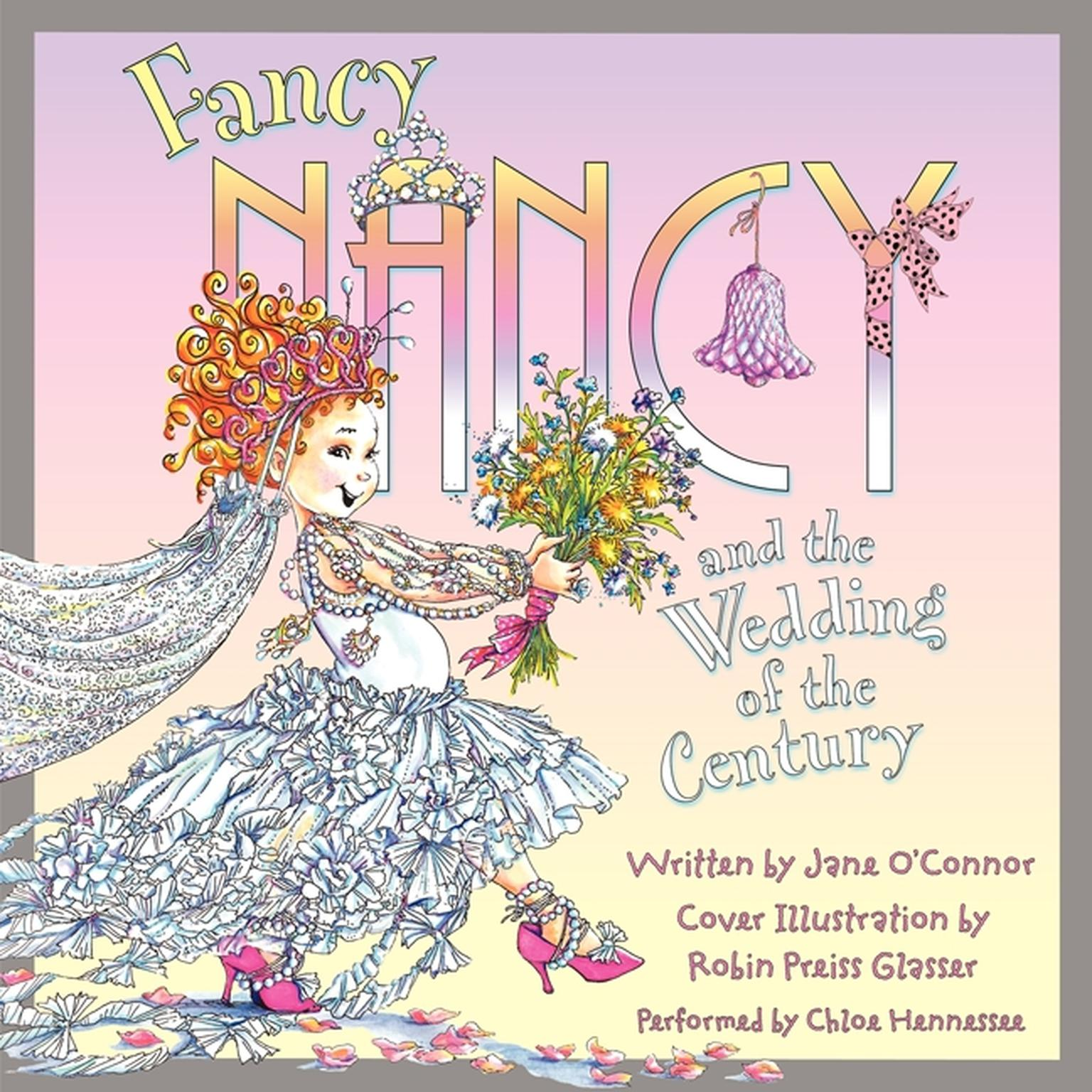 Printable Fancy Nancy and the Wedding of the Century Audiobook Cover Art