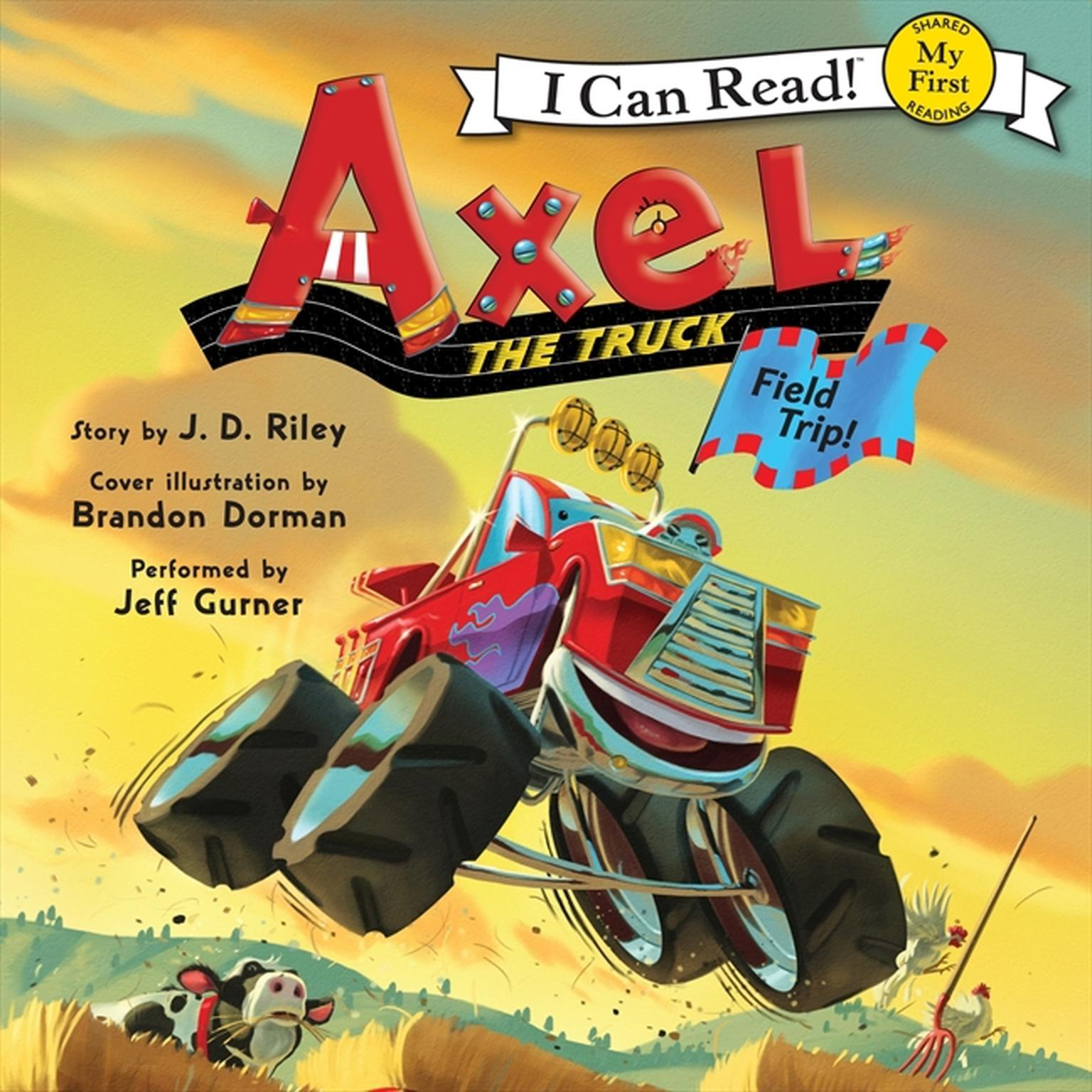 Printable Axel the Truck: Field Trip Audiobook Cover Art