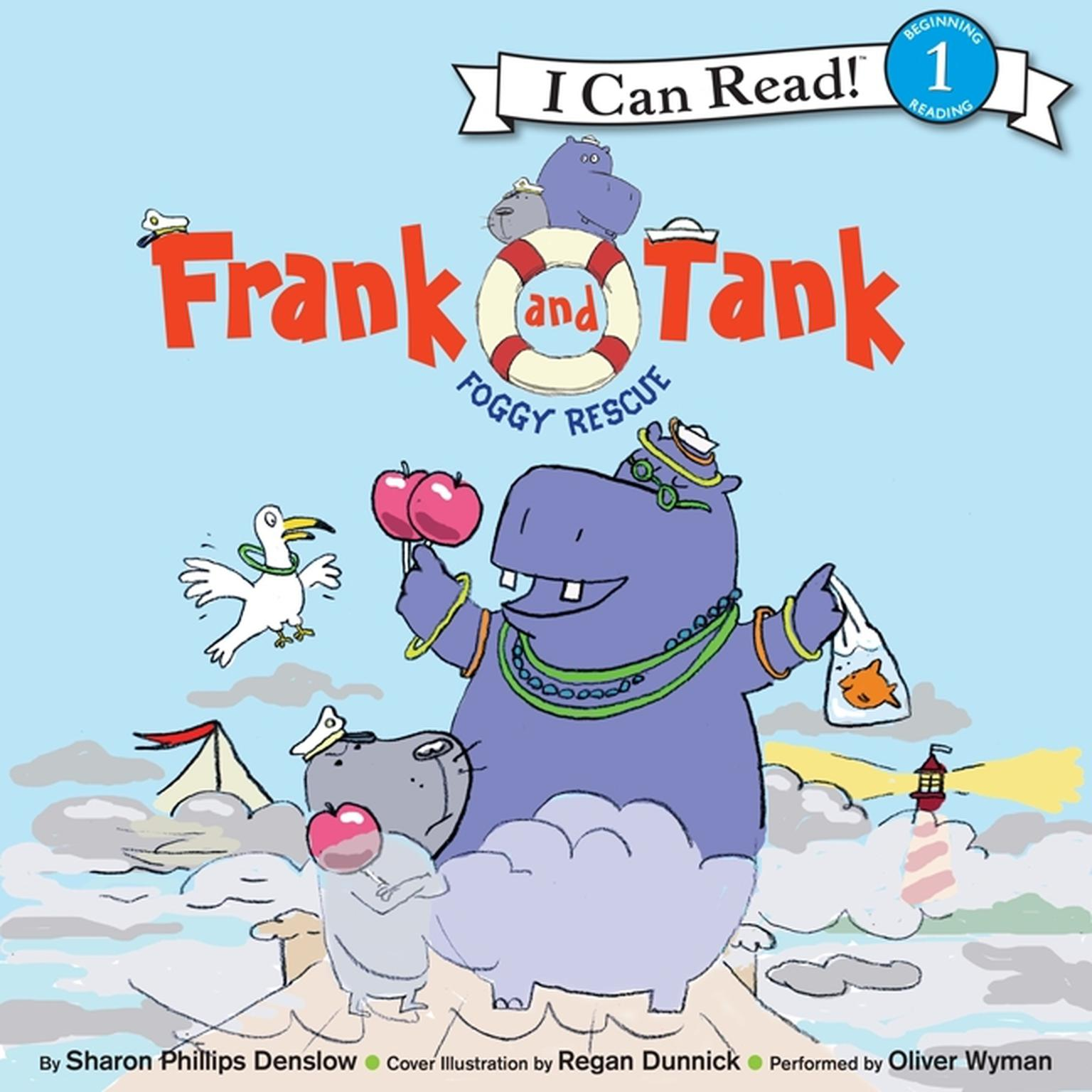 Printable Frank and Tank: Foggy Rescue Audiobook Cover Art