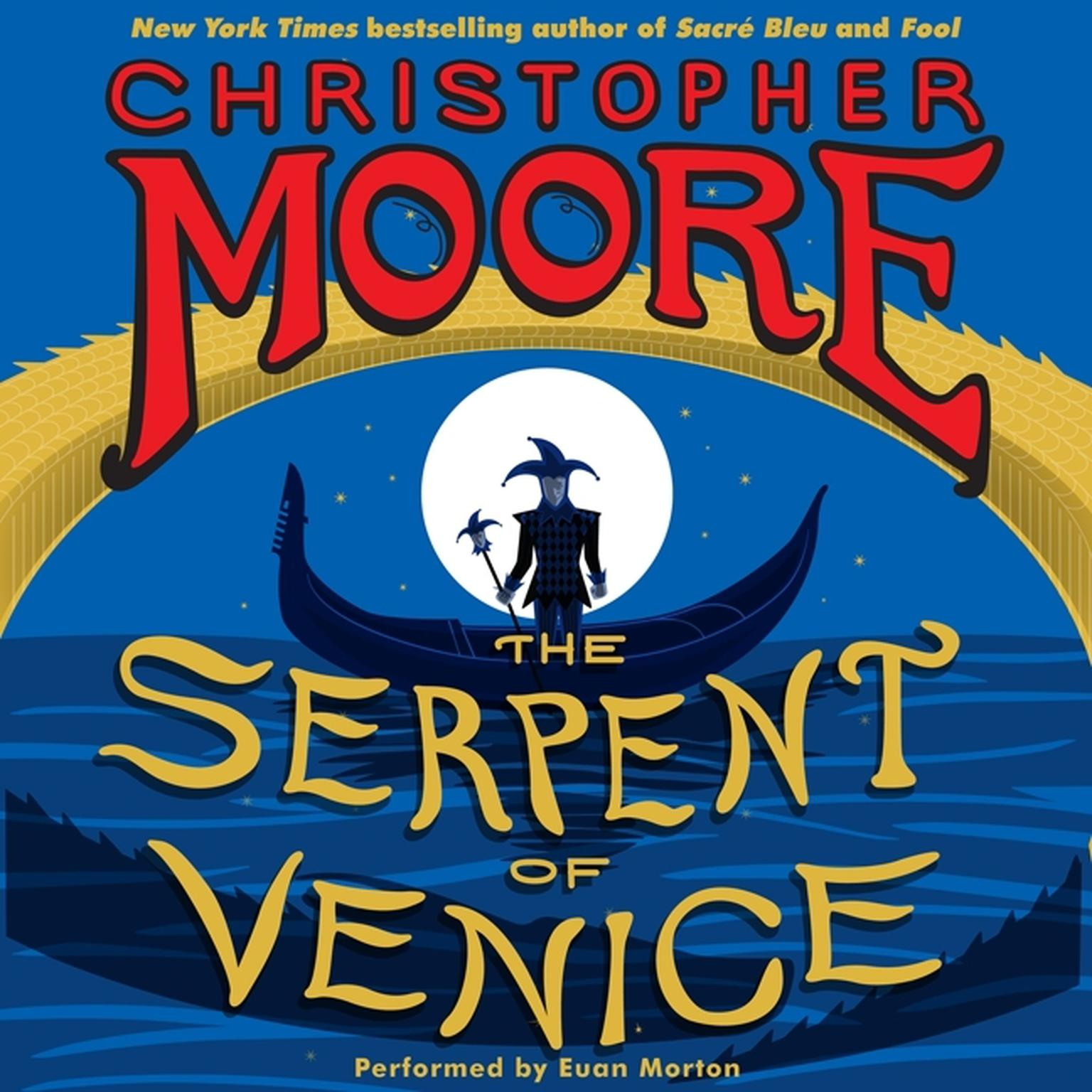 Printable The Serpent of Venice: A Novel Audiobook Cover Art