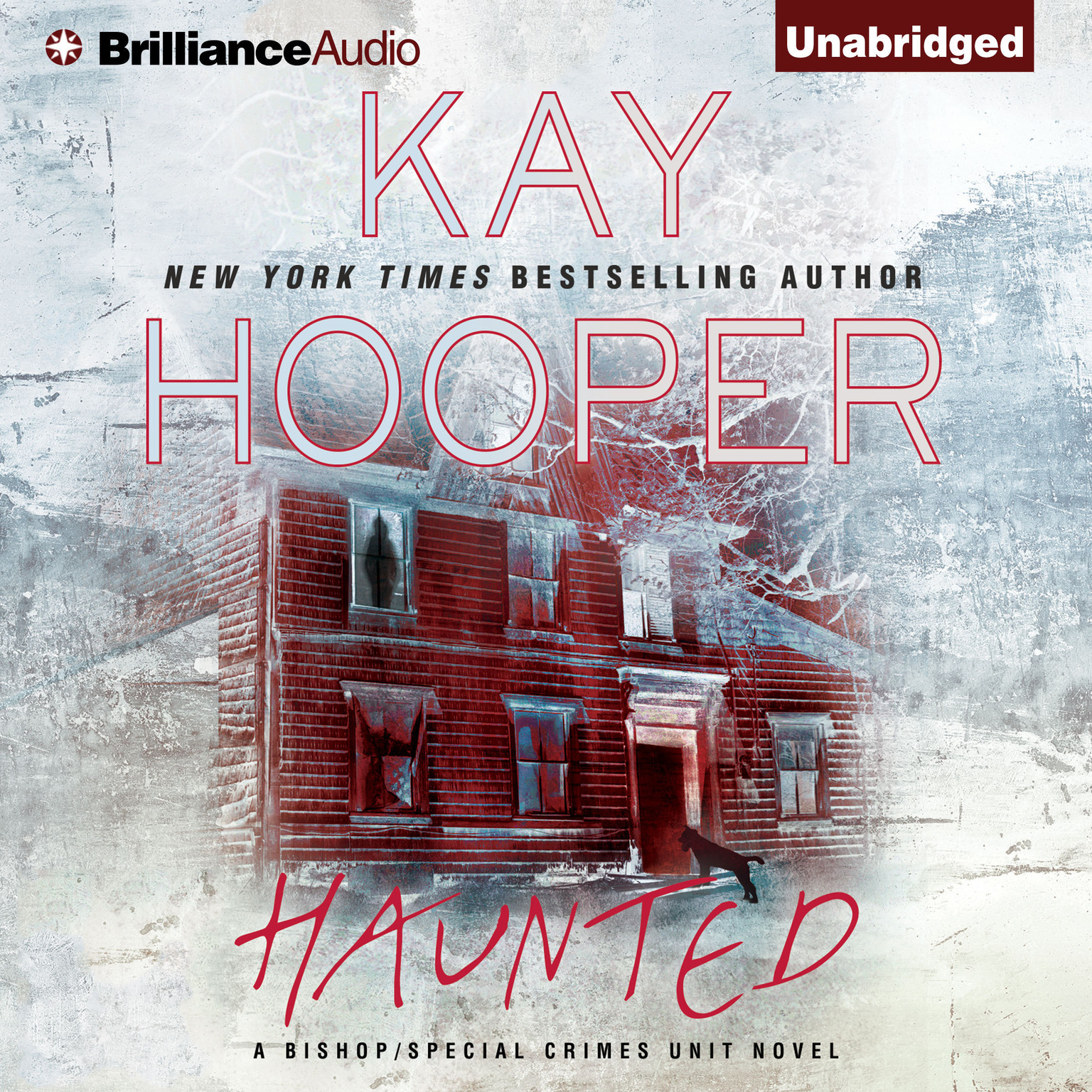 Printable Haunted Audiobook Cover Art