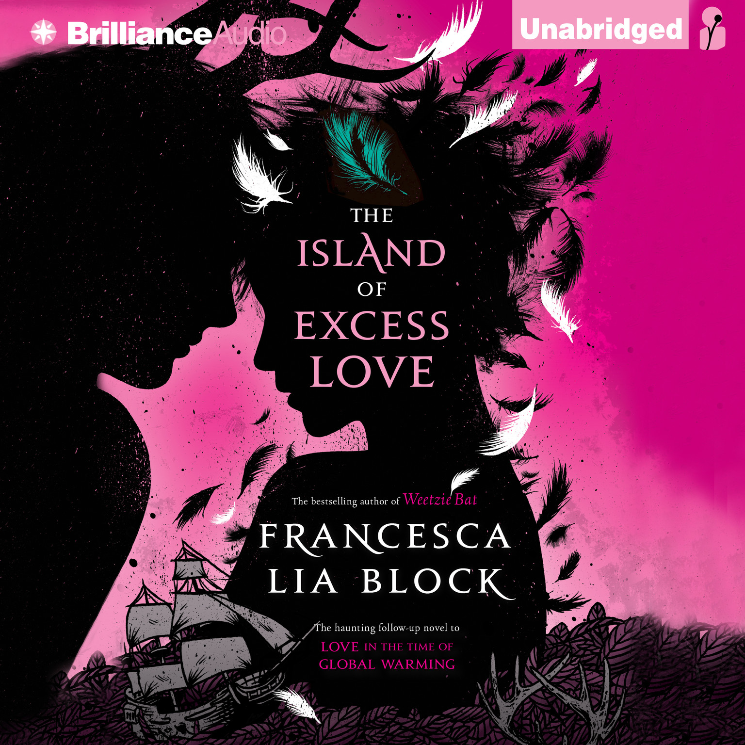 Printable The Island of Excess Love Audiobook Cover Art
