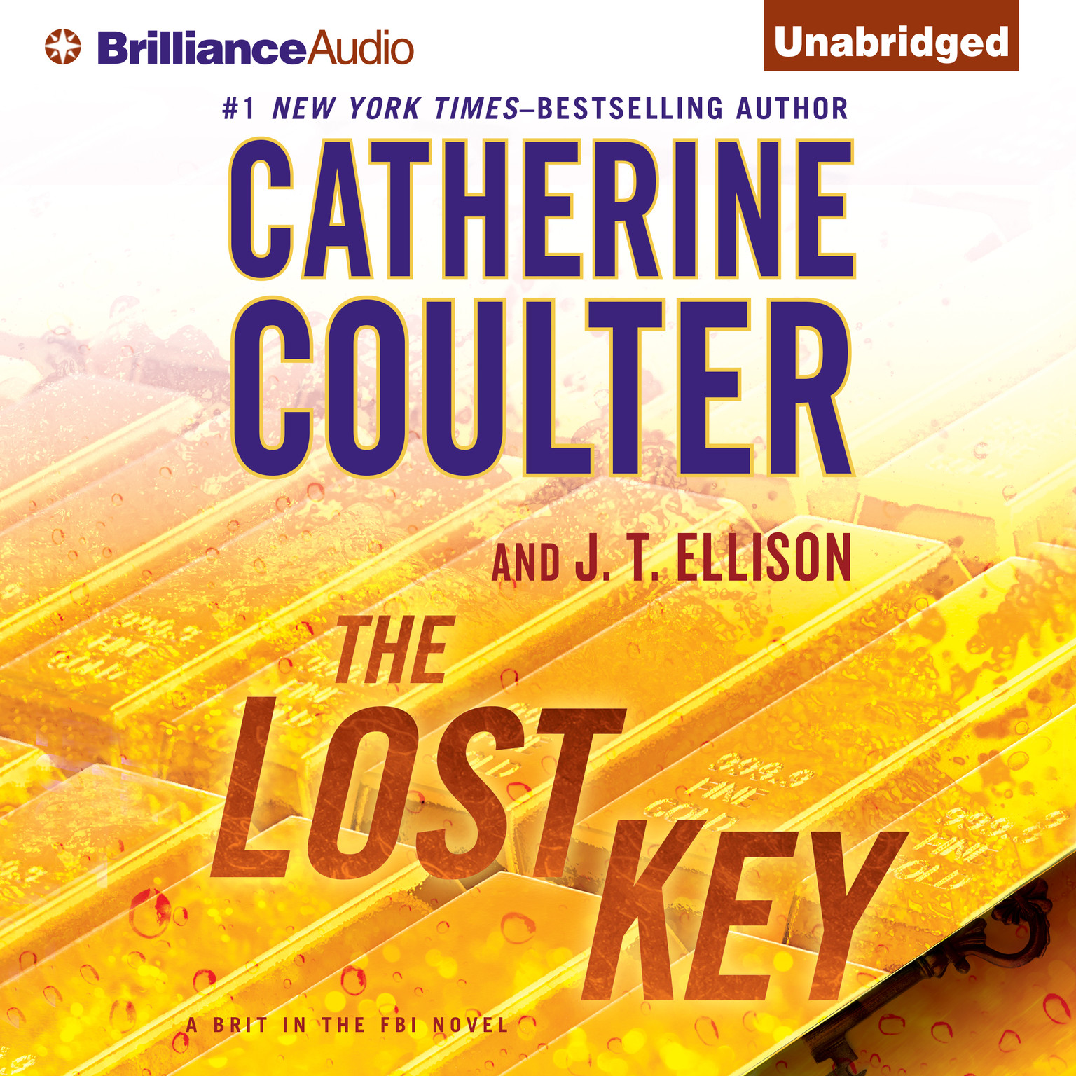 Printable The Lost Key: A Brit in the FBI Novel Audiobook Cover Art