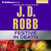 Festive in Death, by J. D. Robb