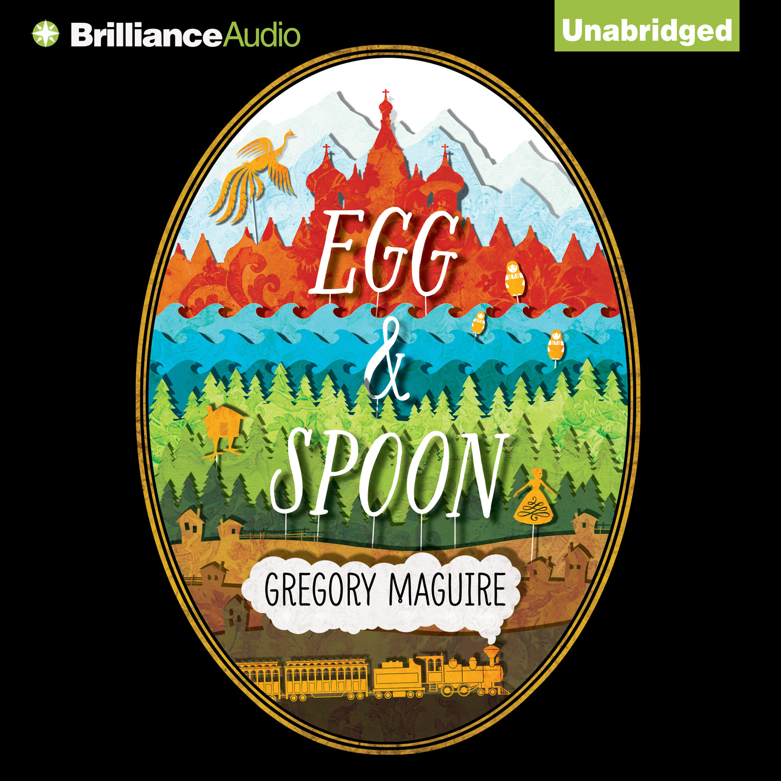 Printable Egg & Spoon Audiobook Cover Art