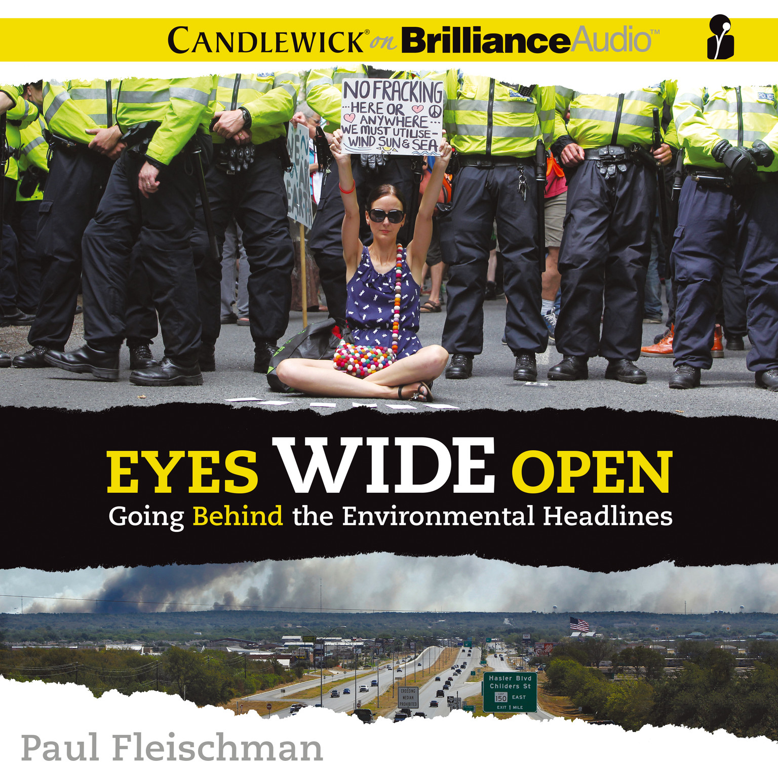 Printable Eyes Wide Open: Going behind the Environmental Headlines Audiobook Cover Art