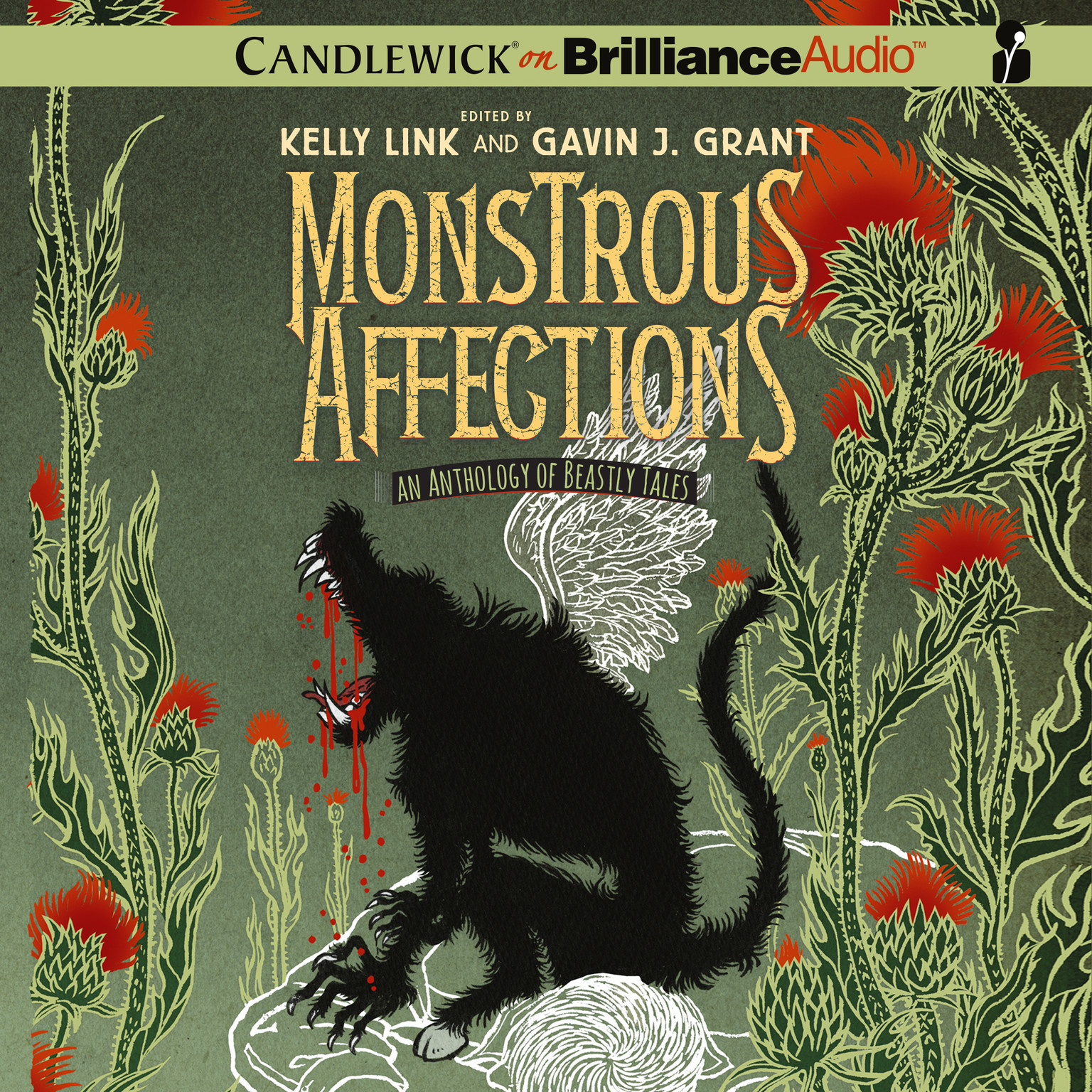 Printable Monstrous Affections: An Anthology of Beastly Tales Audiobook Cover Art