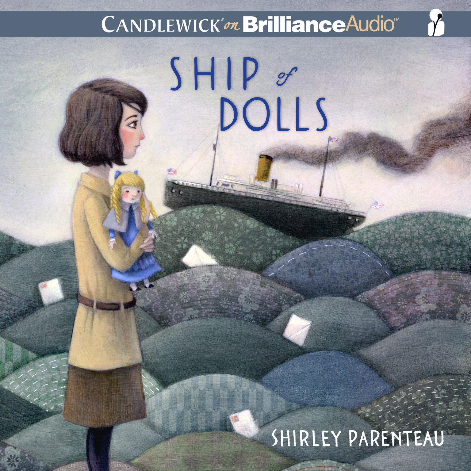 Printable Ship of Dolls Audiobook Cover Art