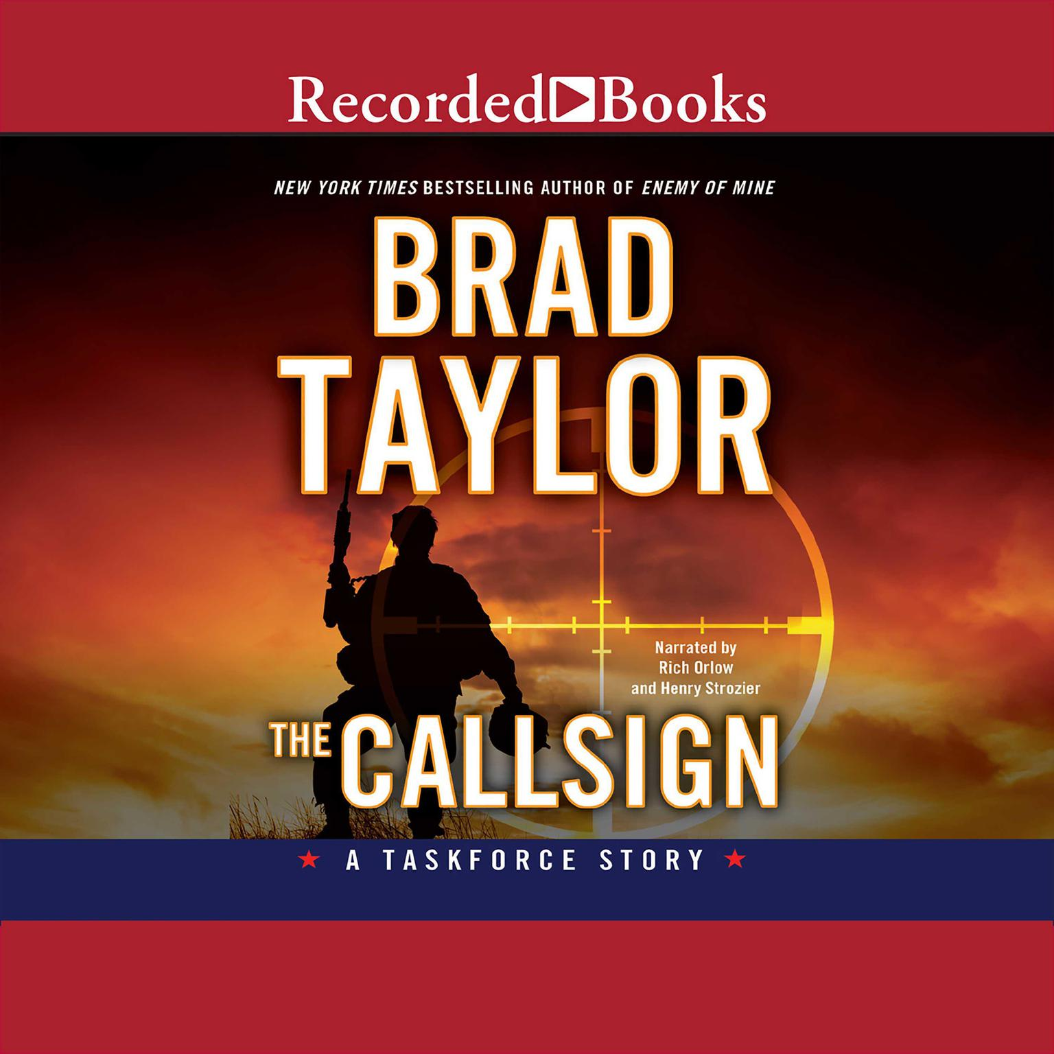 Printable The Callsign: A Taskforce Story Audiobook Cover Art