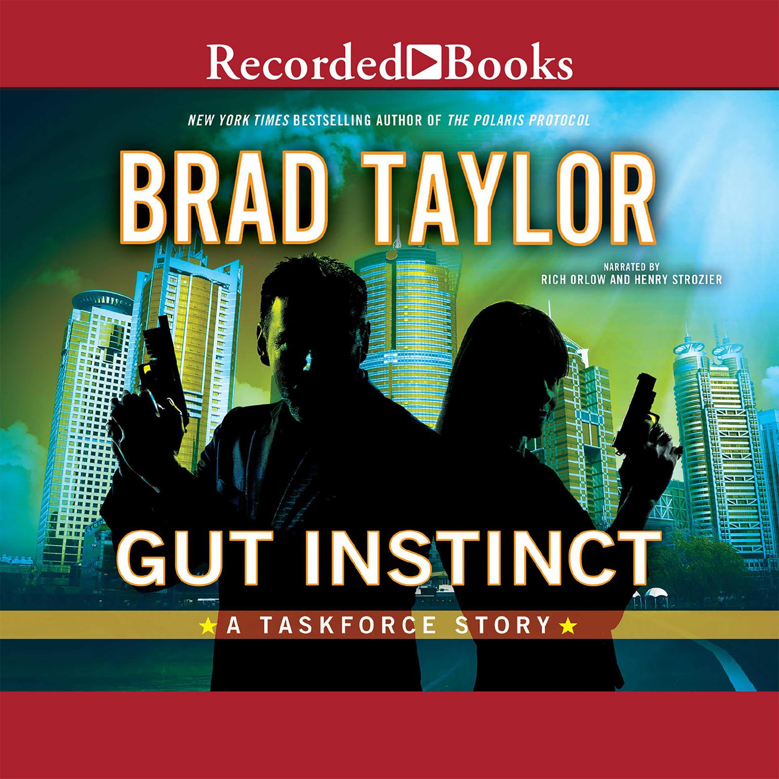 Printable Gut Instinct: A Taskforce Story Audiobook Cover Art