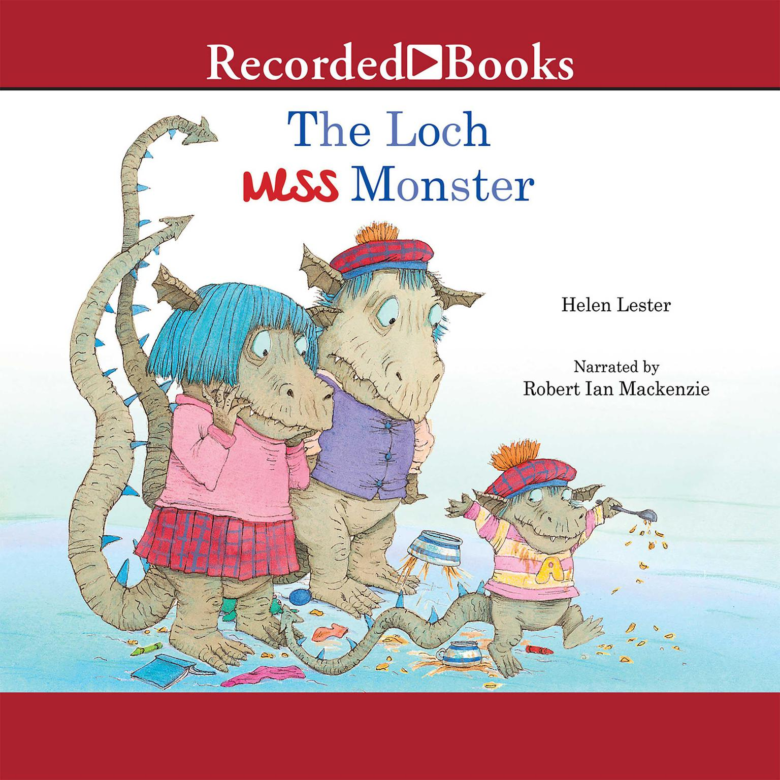 Printable The Loch Mess Monster Audiobook Cover Art