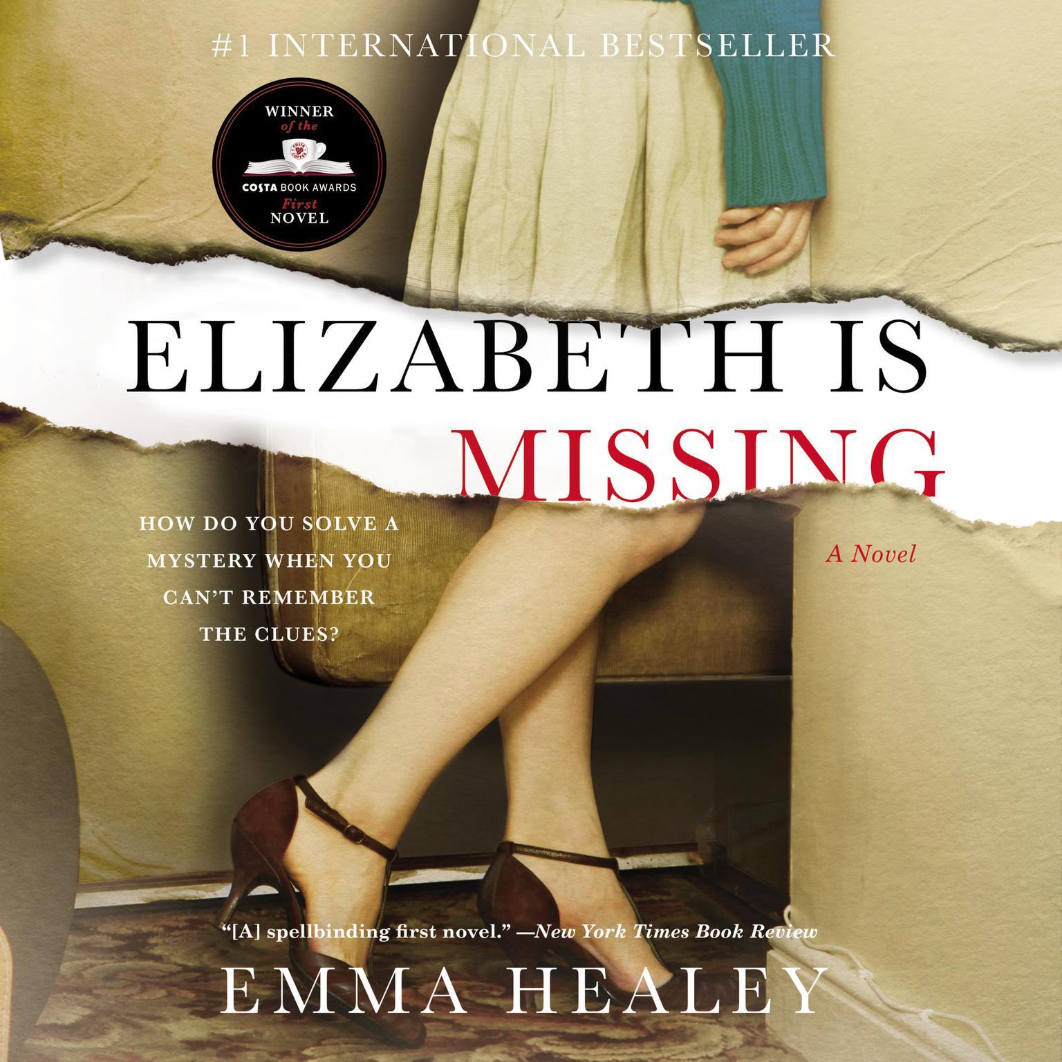 Printable Elizabeth Is Missing Audiobook Cover Art