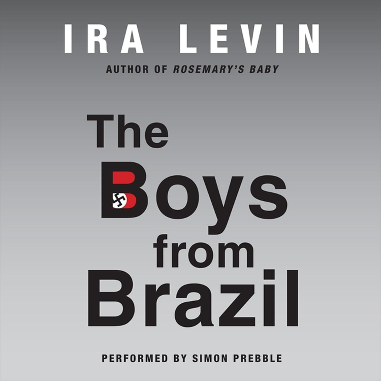 Printable The Boys from Brazil Audiobook Cover Art