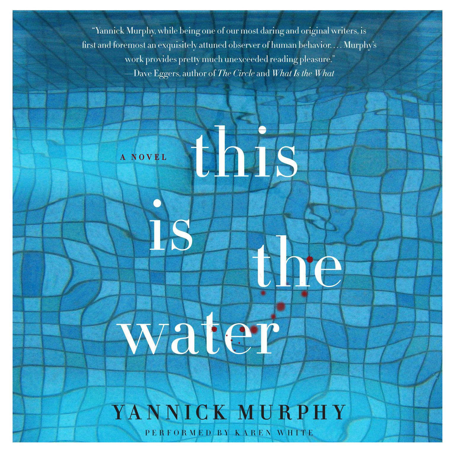 Printable This Is the Water: A Novel Audiobook Cover Art