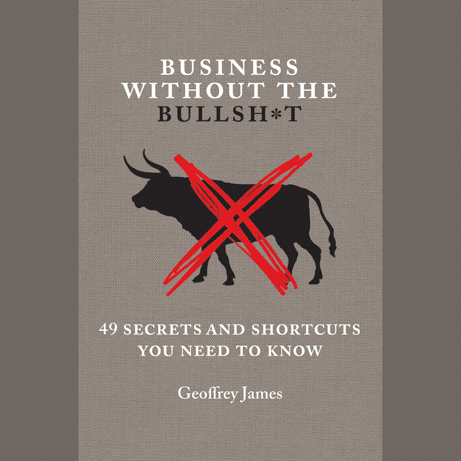 Printable Business without the Bullsh*t: 49 Secrets and Shortcuts You Need to Know Audiobook Cover Art
