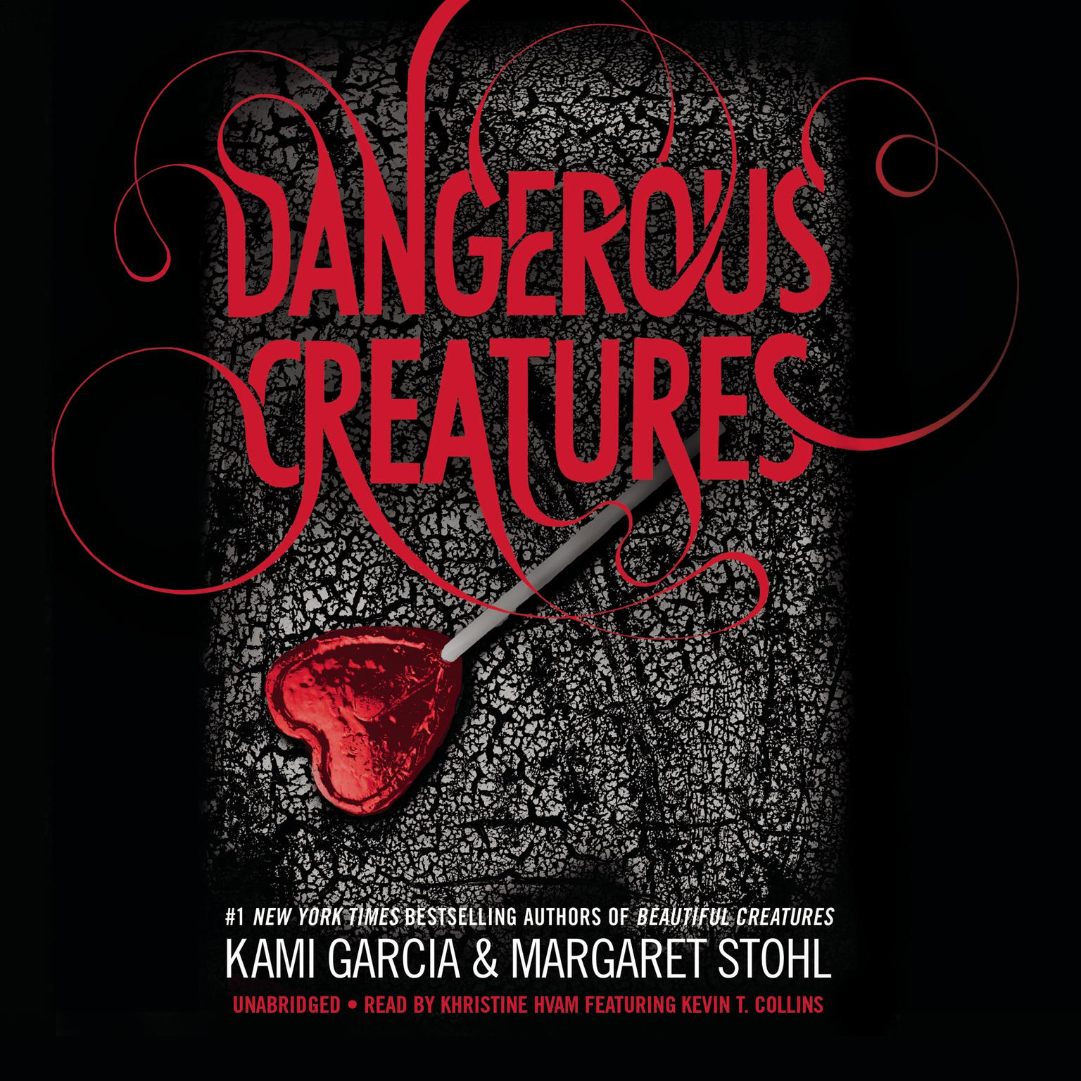 Printable Dangerous Creatures Audiobook Cover Art
