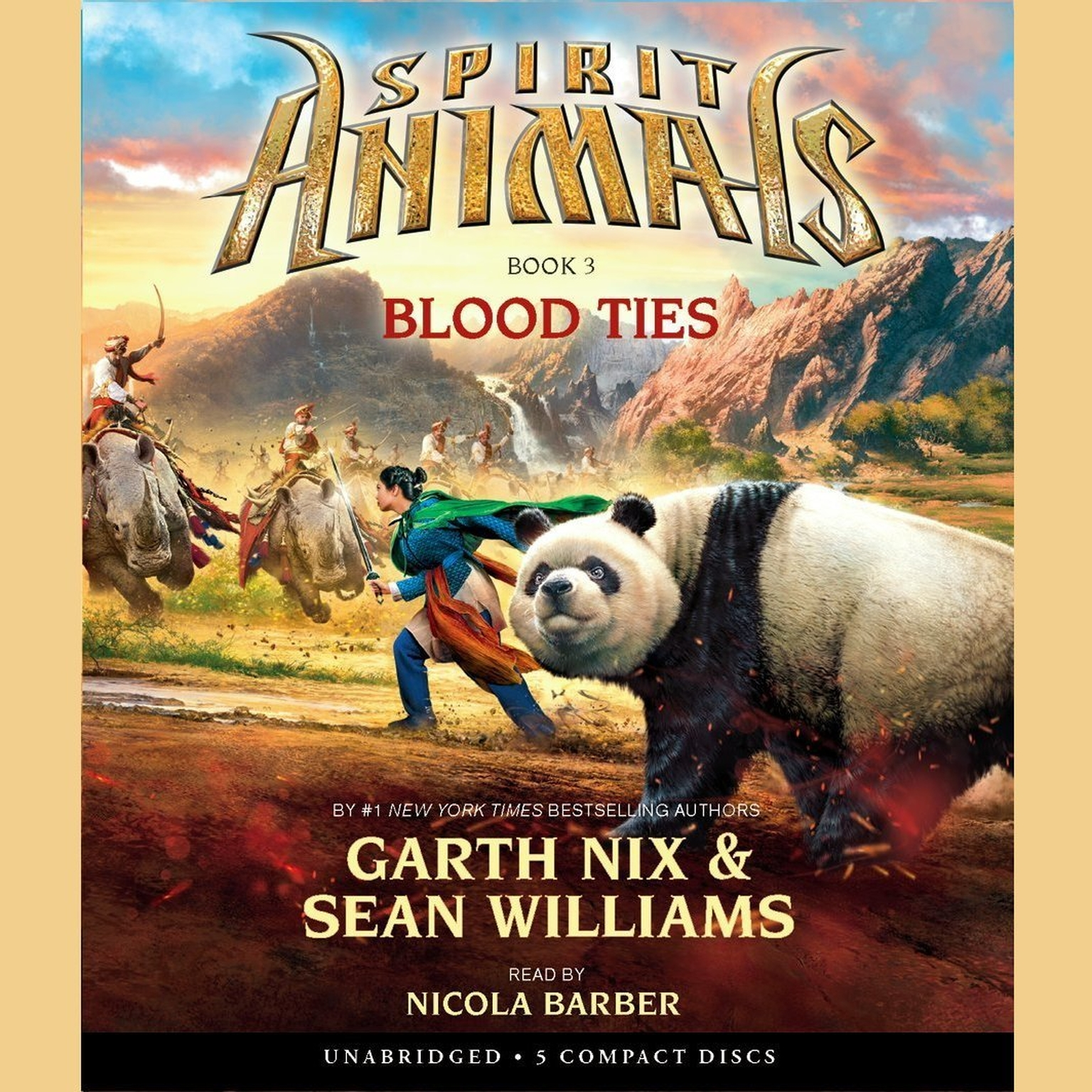 Printable Blood Ties Audiobook Cover Art