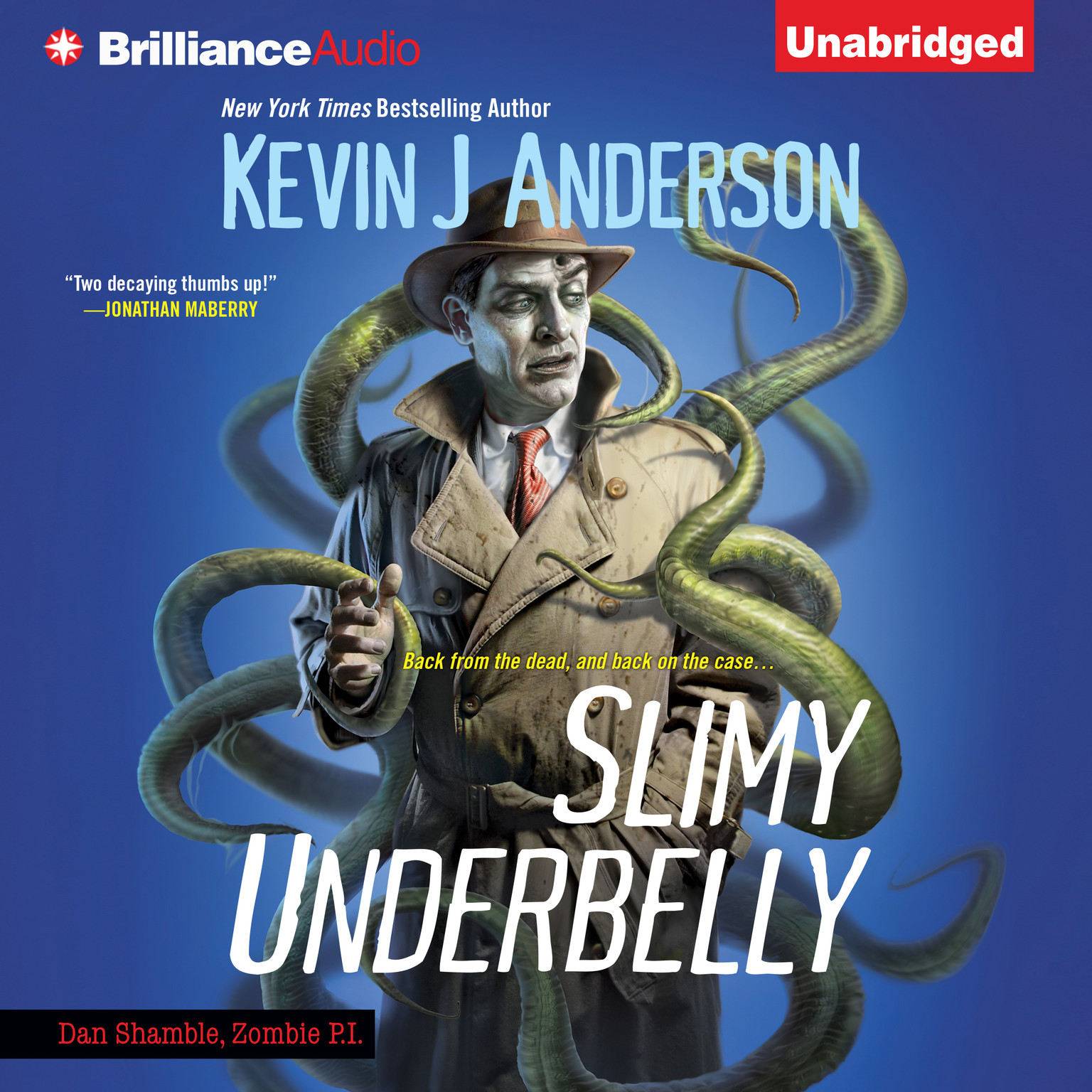 Printable Slimy Underbelly Audiobook Cover Art