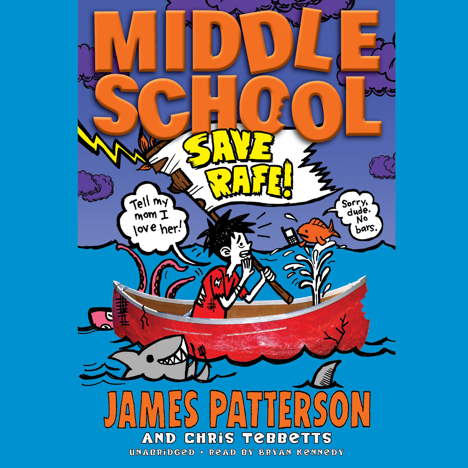 Printable Middle School: Save Rafe! Audiobook Cover Art